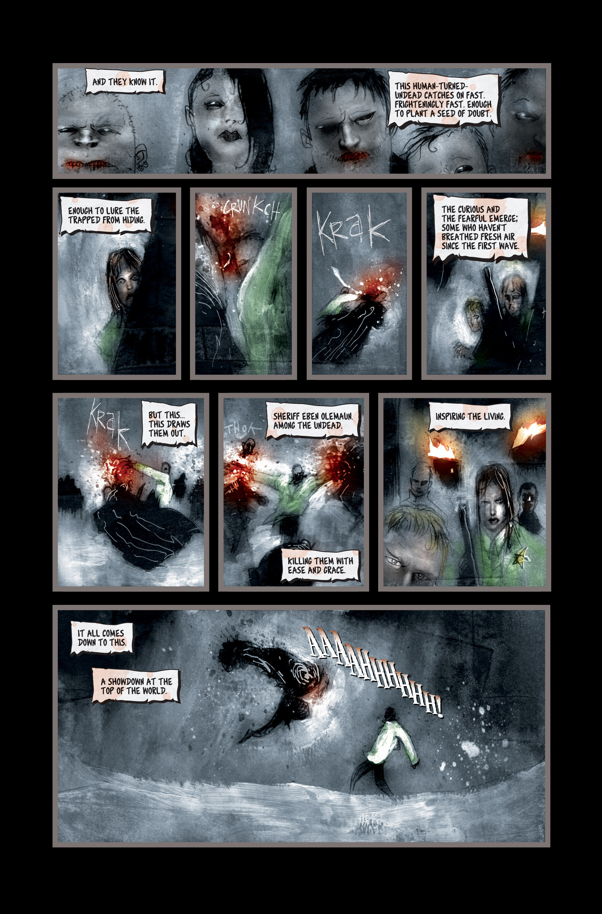 Read online 30 Days of Night (2002) comic -  Issue #3 - 23