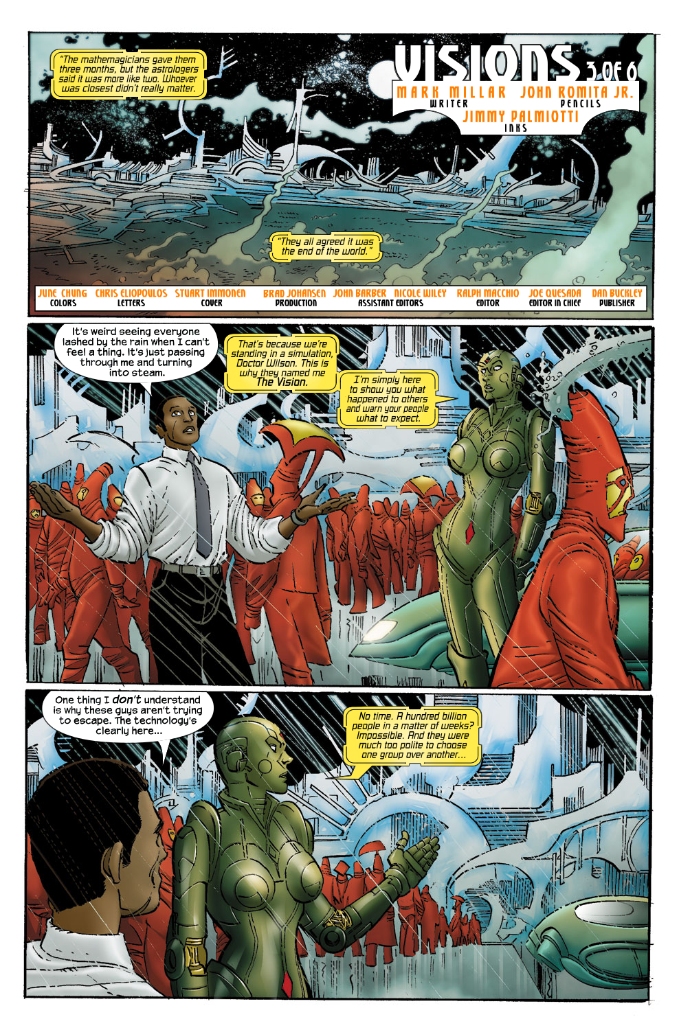 Read online Ultimate Vision comic -  Issue #0 - 11