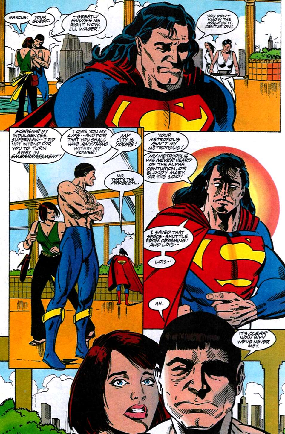 Read online Adventures of Superman (1987) comic -  Issue #516 - 20