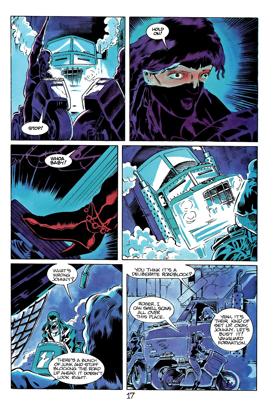 The Terminator (1988) issue 12 - Page 21