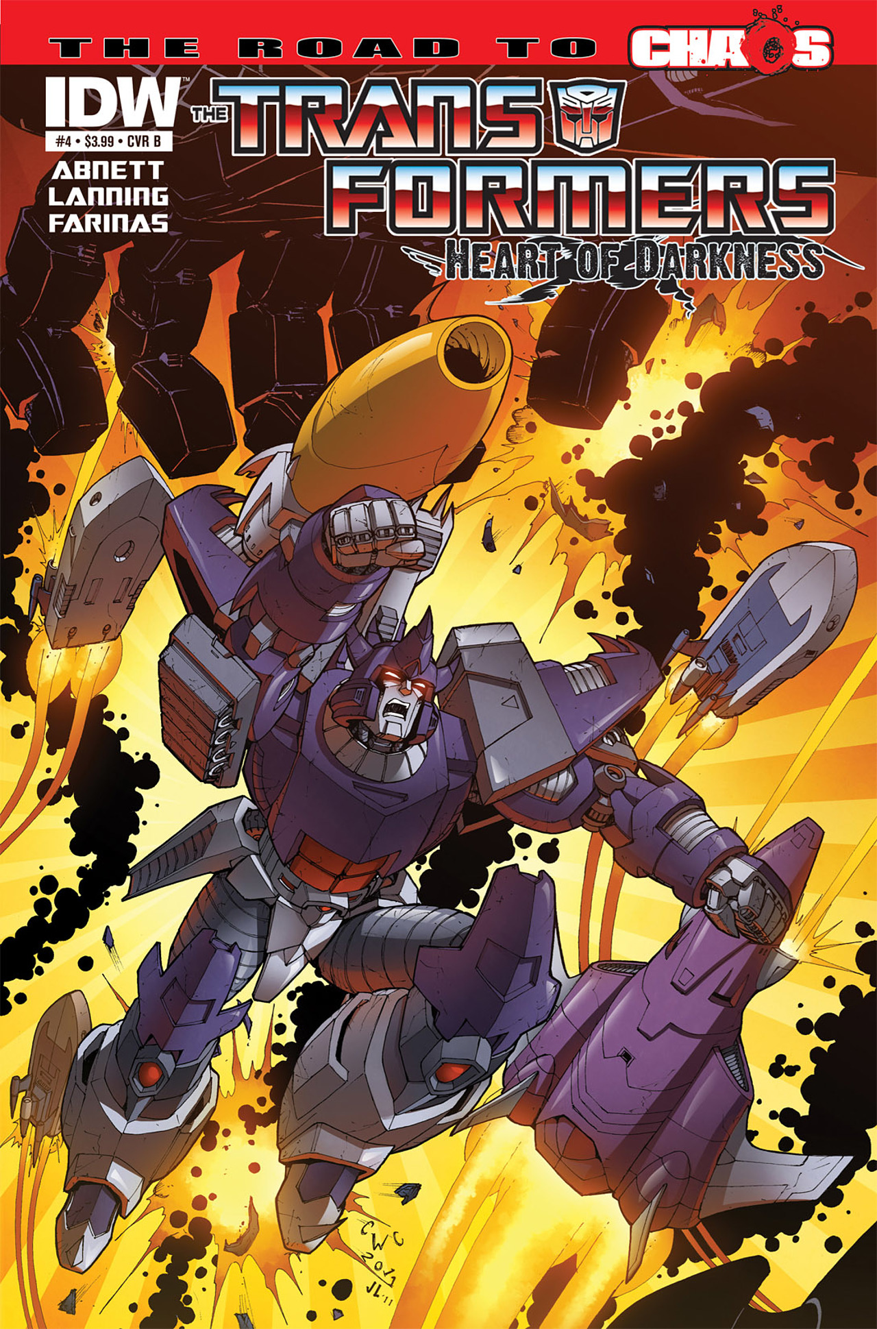 Read online Transformers: Heart of Darkness comic -  Issue #4 - 2