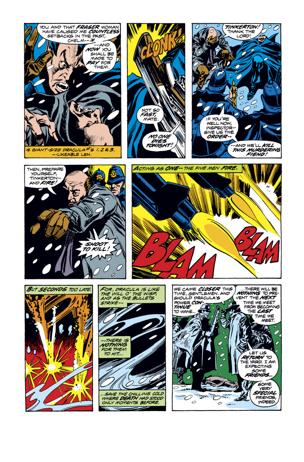 Tomb of Dracula (1972) issue 34 - Page 8