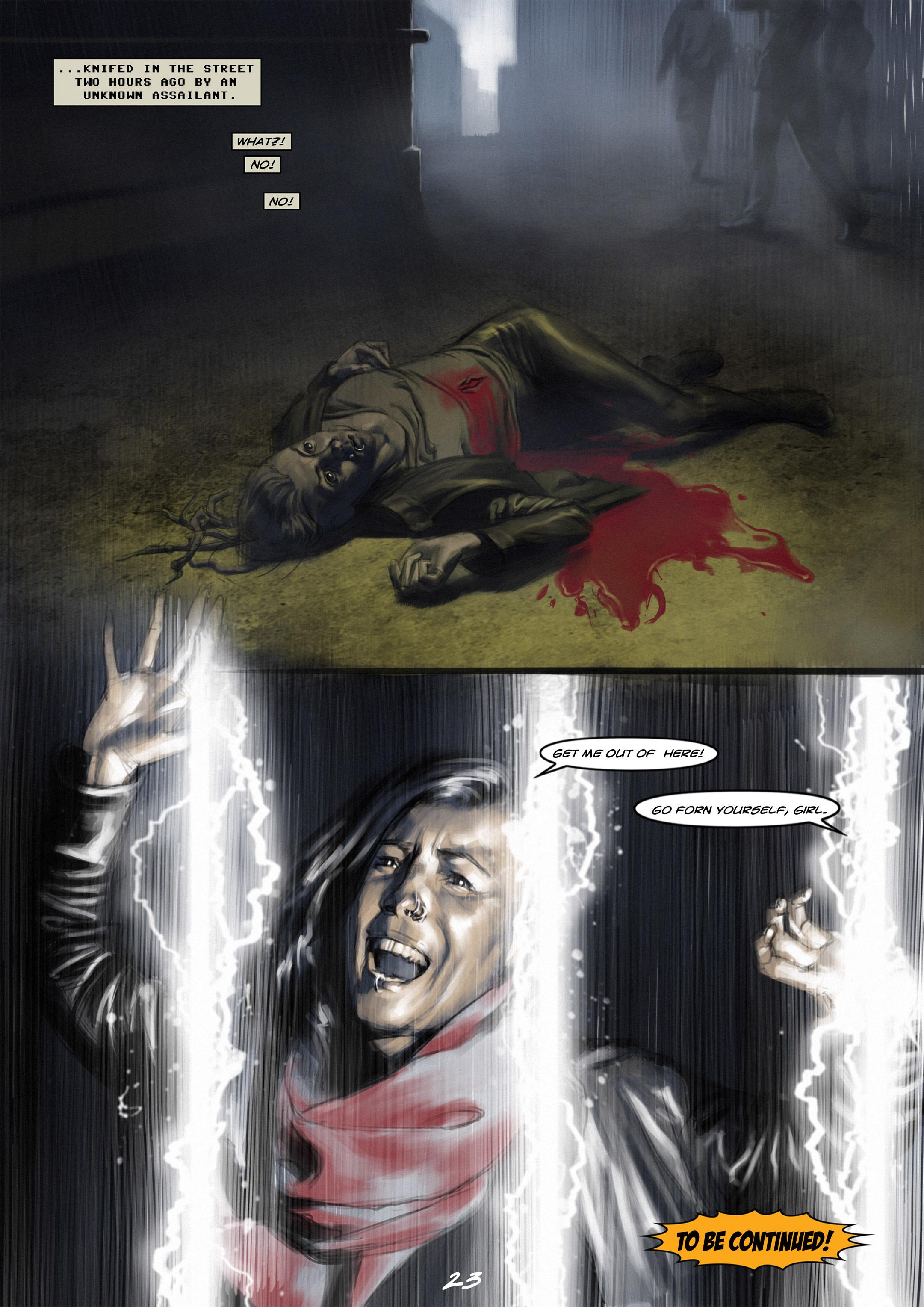 Read online Wynter comic -  Issue #1 - 23