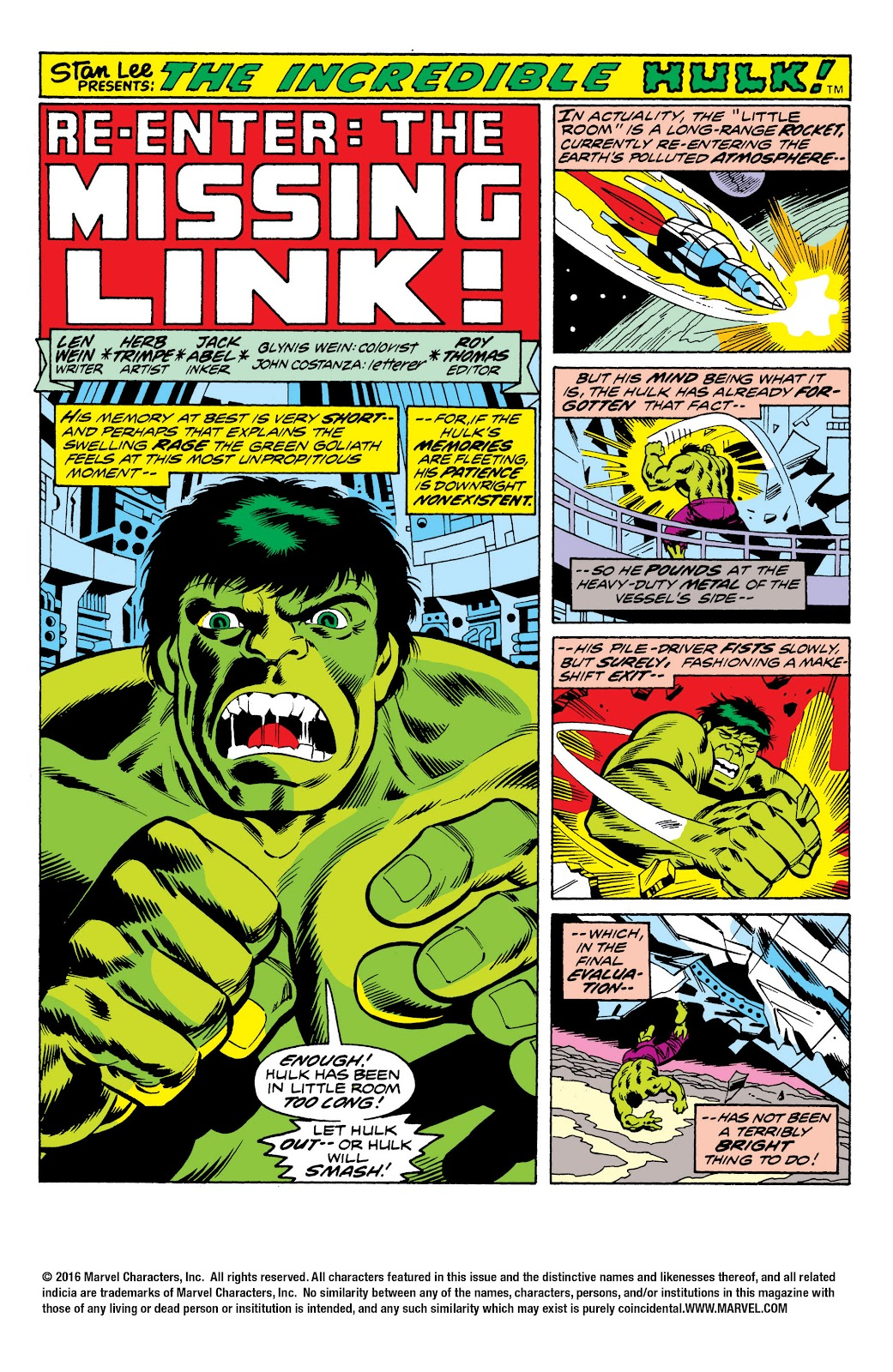 Read online Marvel Masterworks: The Incredible Hulk comic -  Issue # TPB 10 (Part 2) - 67