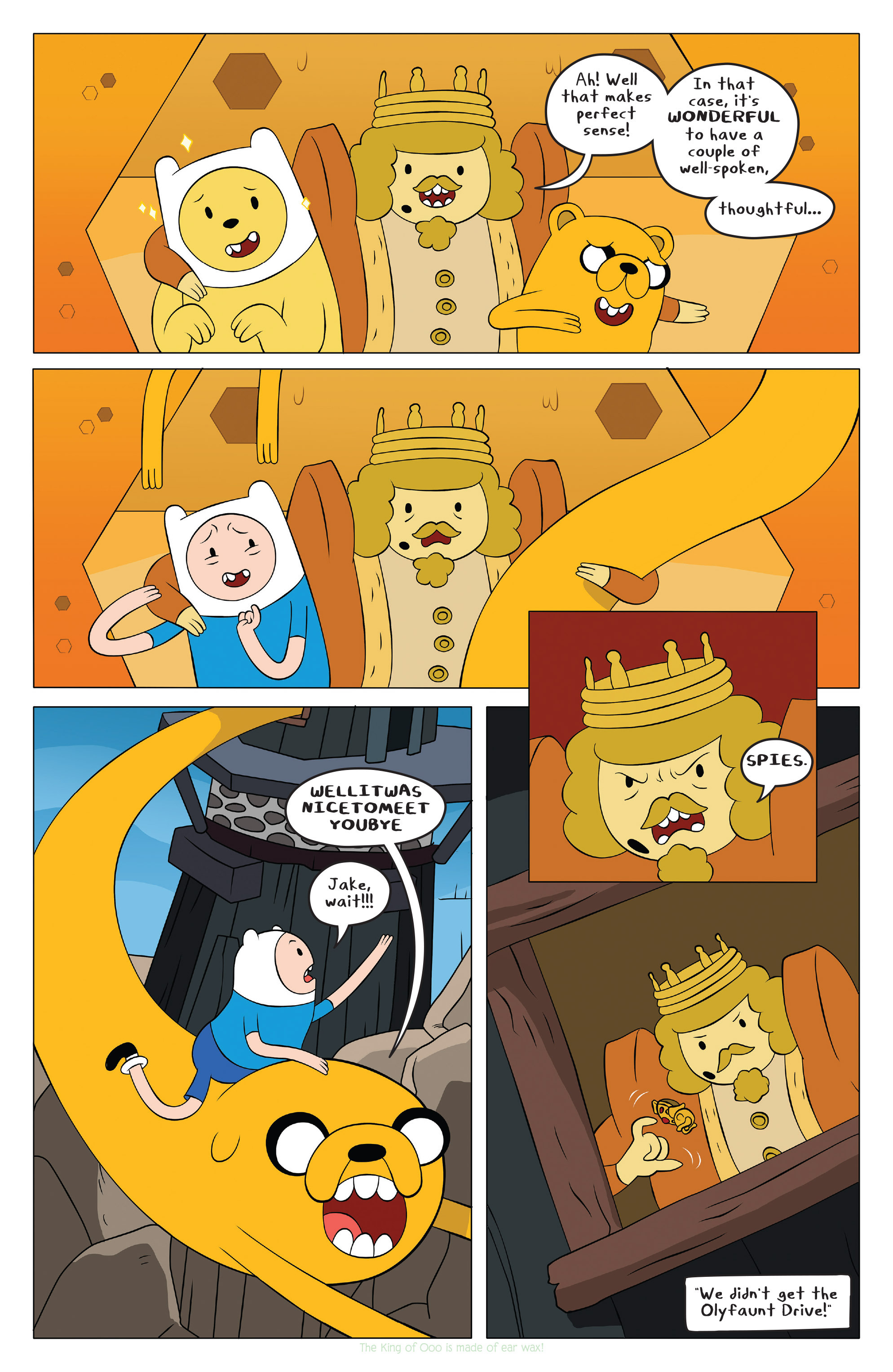 Read online Adventure Time comic -  Issue #42 - 15