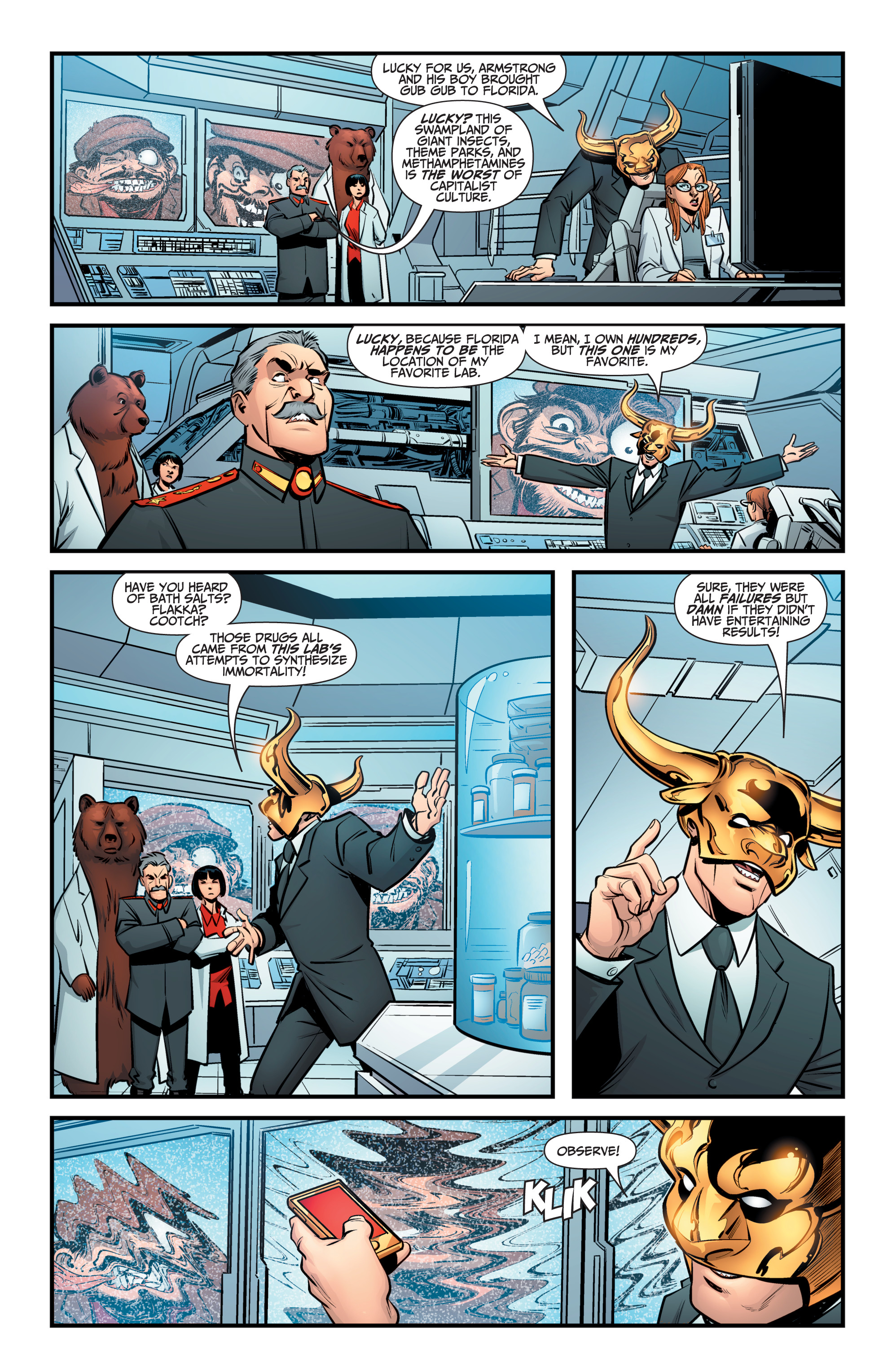 Read online A&A: The Adventures of Archer & Armstrong comic -  Issue #9 - 10
