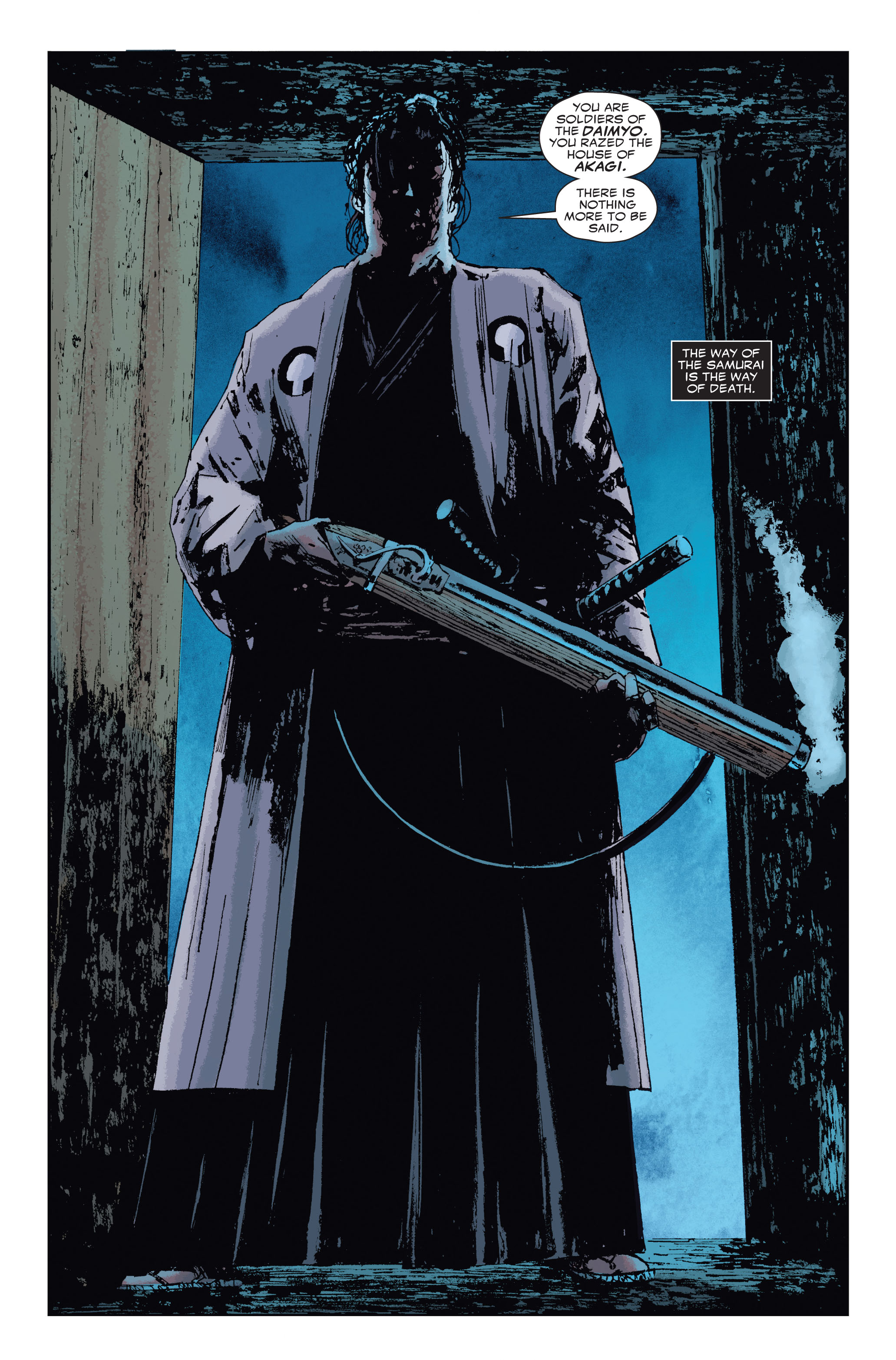 Read online 5 Ronin (2011) comic -  Issue #3 - 11