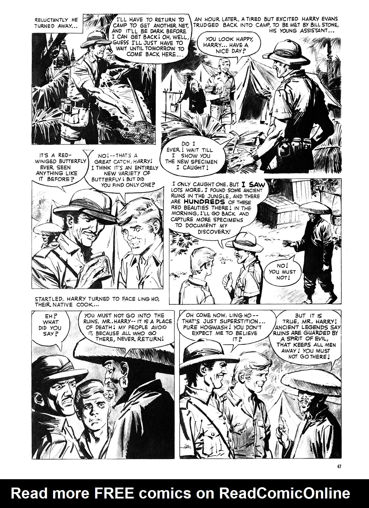 Read online Eerie Archives comic -  Issue # TPB 8 - 48