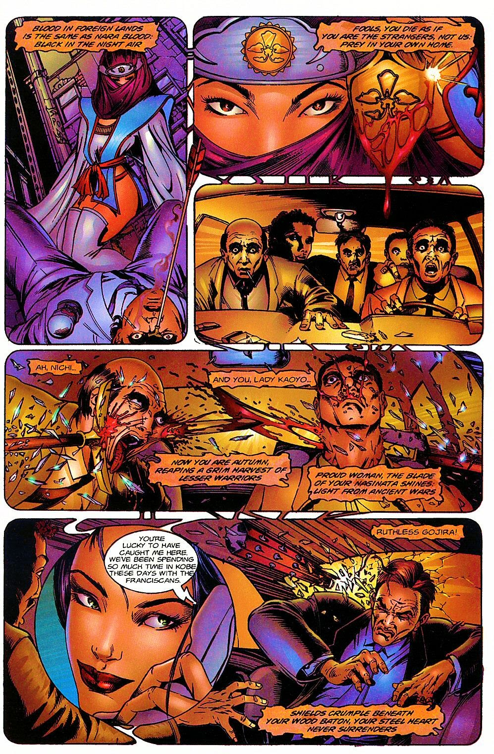 Read online Shi: The Way of the Warrior comic -  Issue #6 - 6