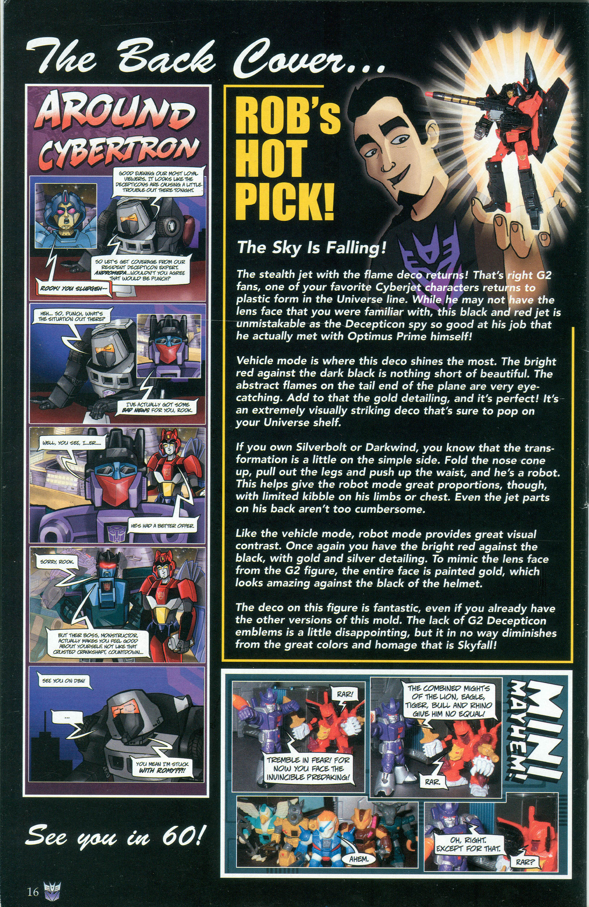 Read online Transformers: Collectors' Club comic -  Issue #30 - 16