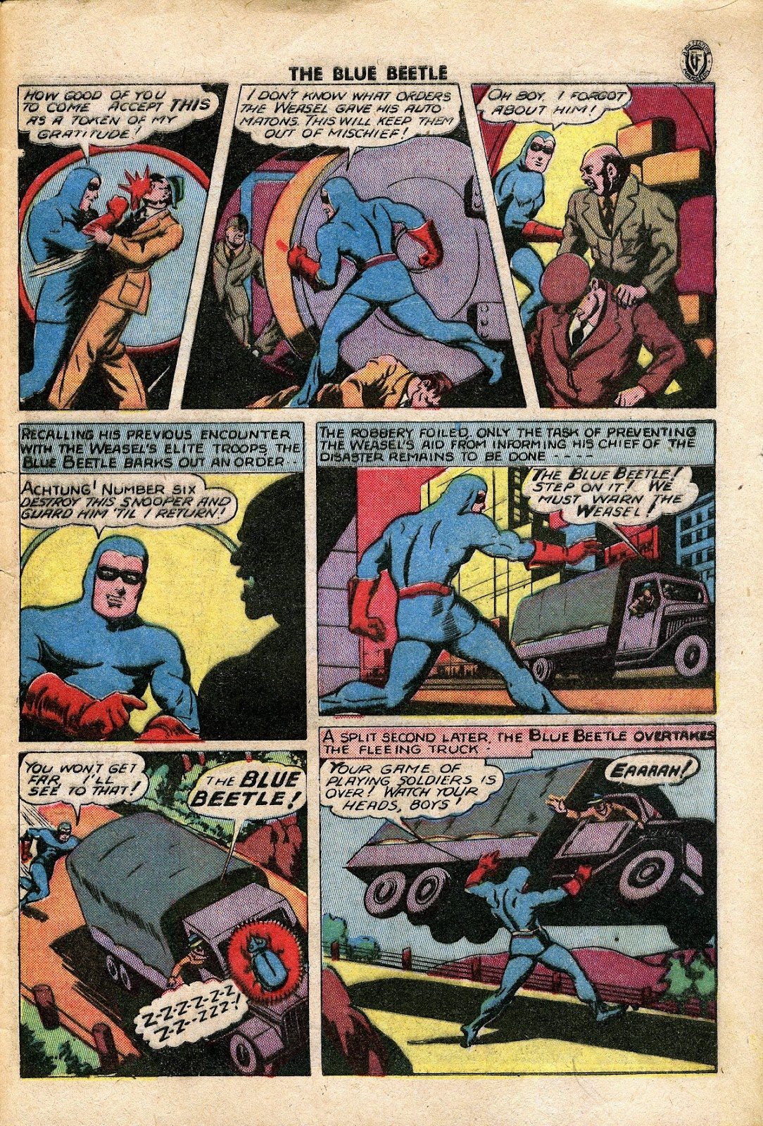 The Blue Beetle issue 34 - Page 42