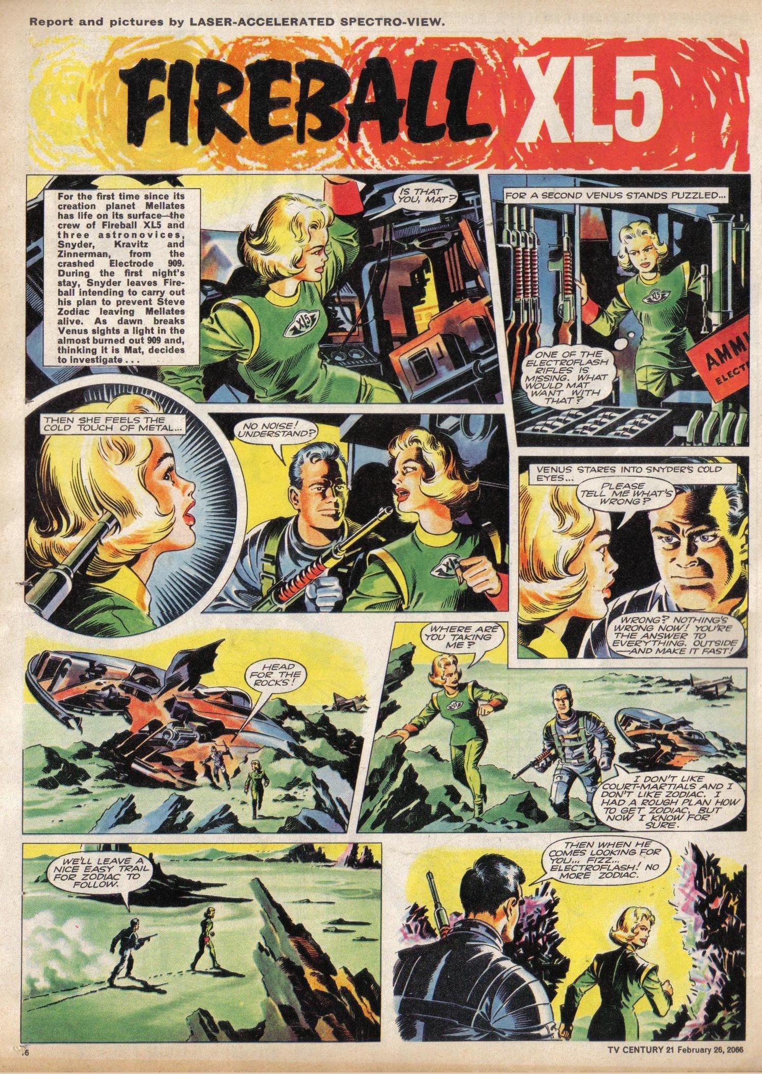 Read online TV Century 21 (TV 21) comic -  Issue #58 - 17