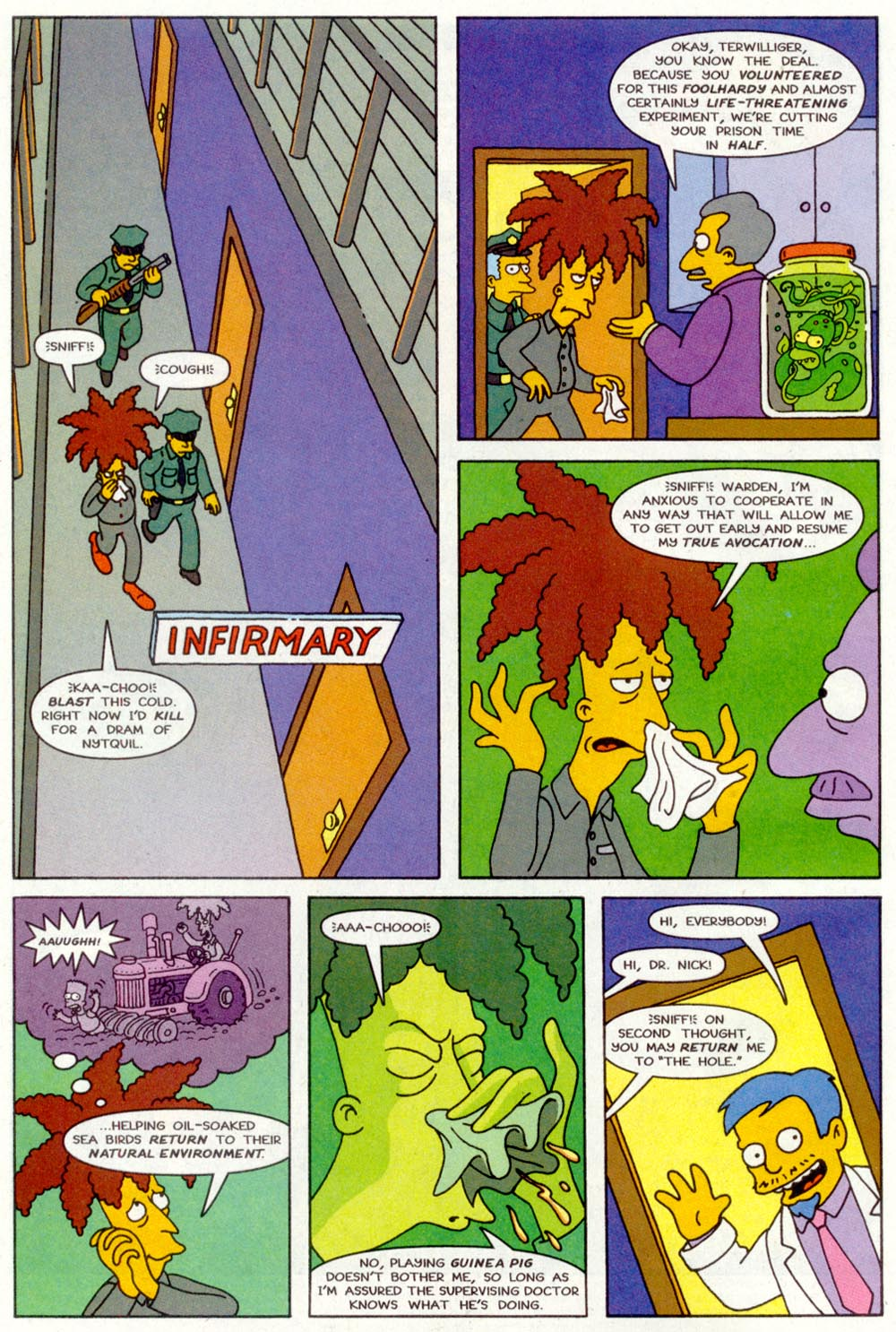 Read online Treehouse of Horror comic -  Issue #2 - 3