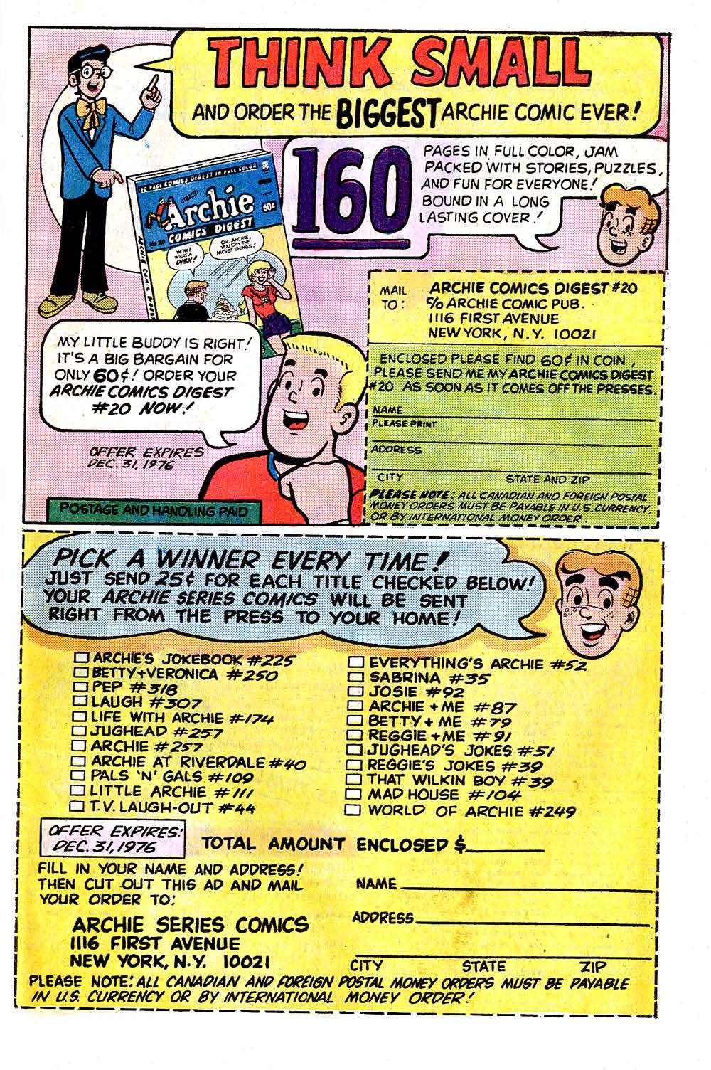 Read online Archie (1960) comic -  Issue #256 - 27