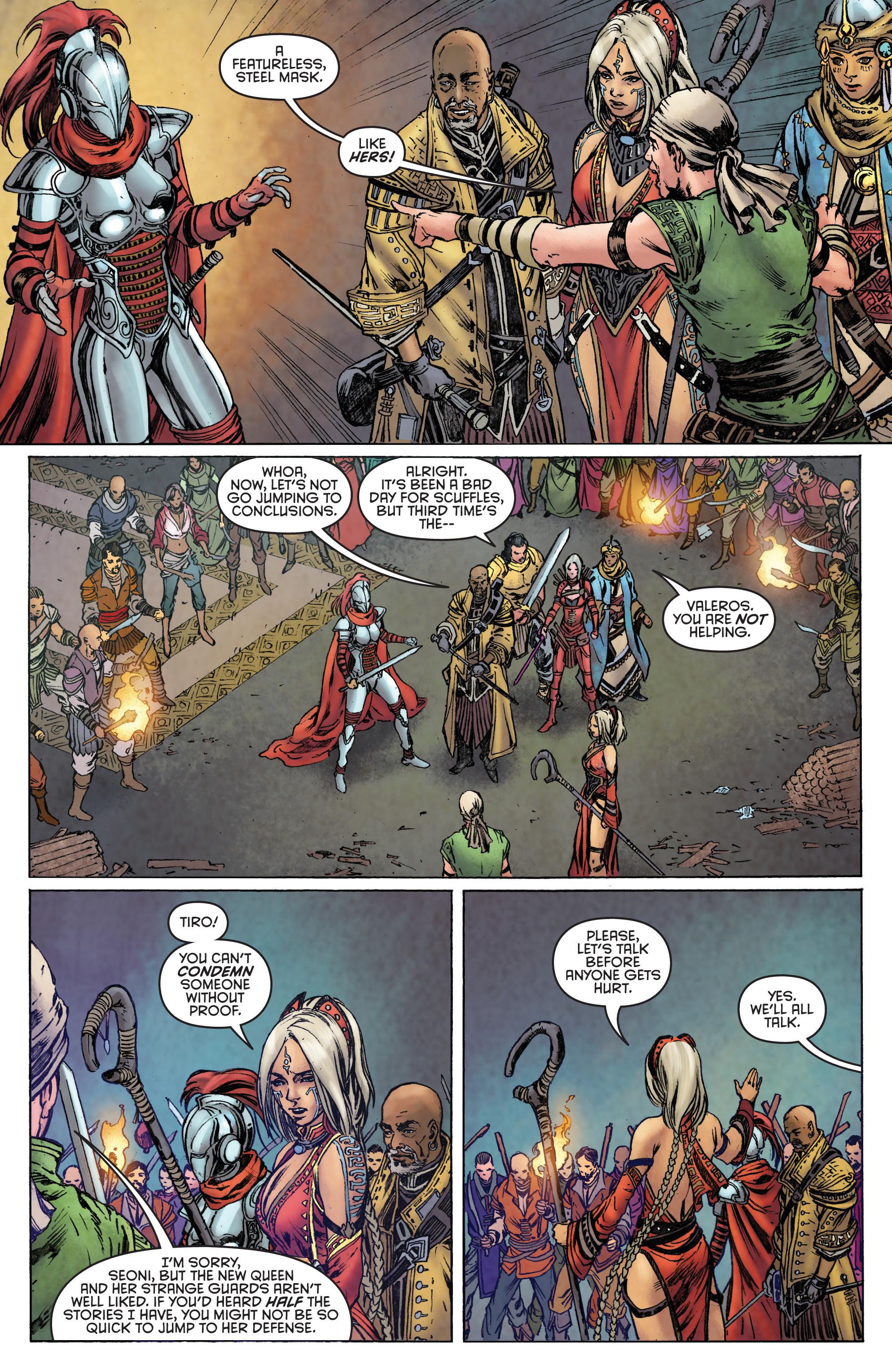 Read online Pathfinder: Runescars comic -  Issue #1 - 24