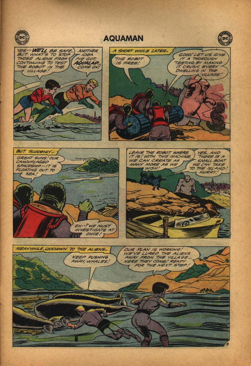 Read online Aquaman (1962) comic -  Issue #4 - 27