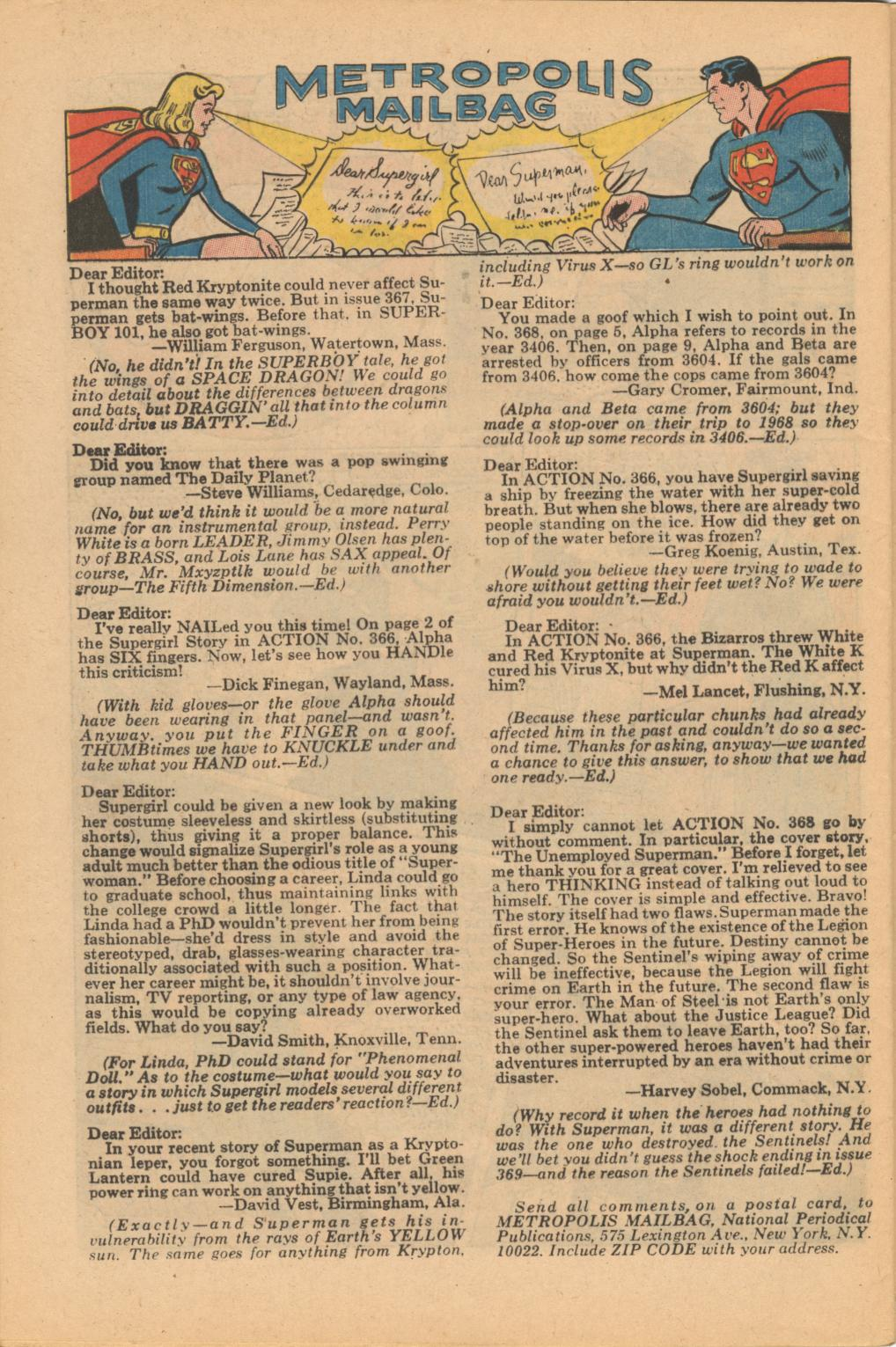 Read online Action Comics (1938) comic -  Issue #371 - 32