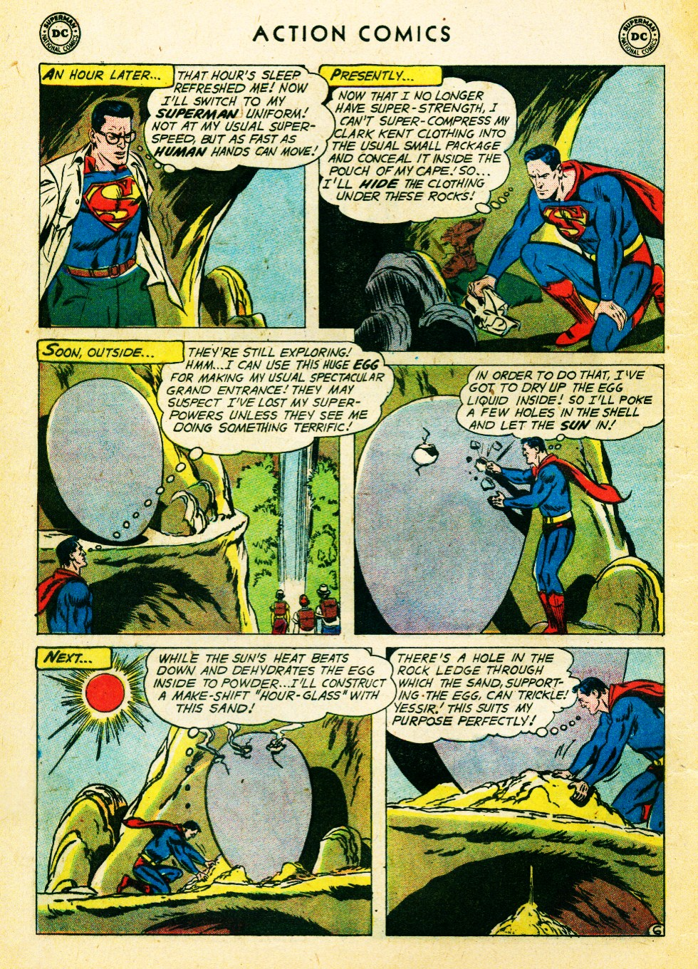 Read online Action Comics (1938) comic -  Issue #262 - 8