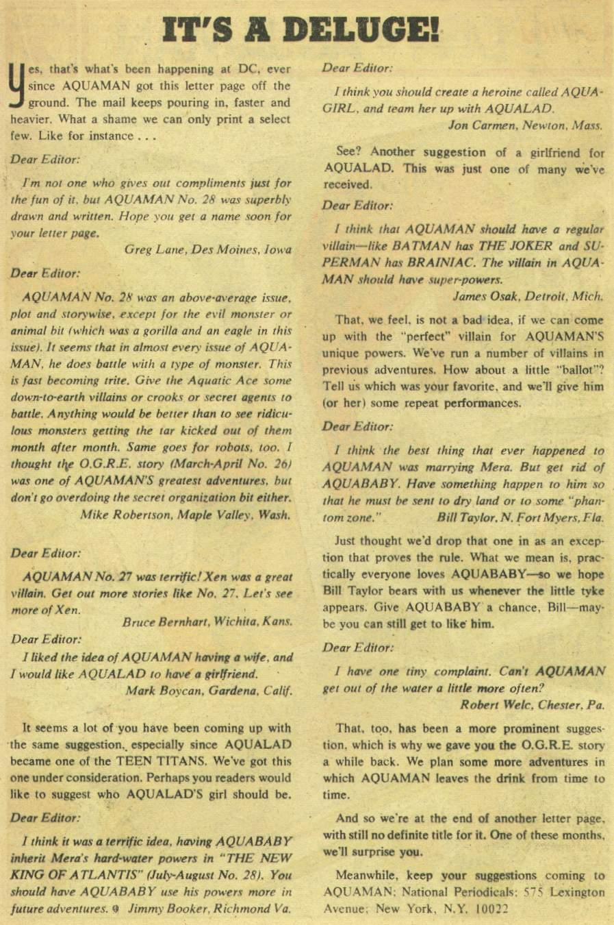 Read online Aquaman (1962) comic -  Issue #30 - 13