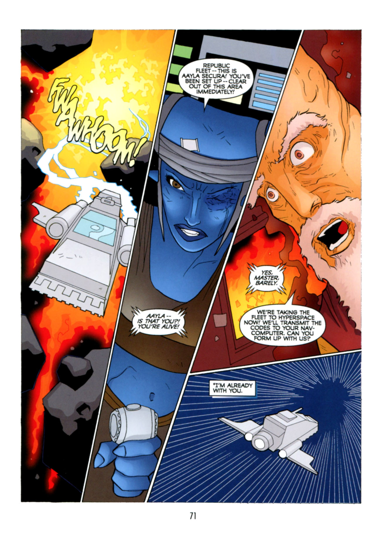 Read online Star Wars: The Clone Wars - Deadly Hands of Shon-Ju comic -  Issue # Full - 72