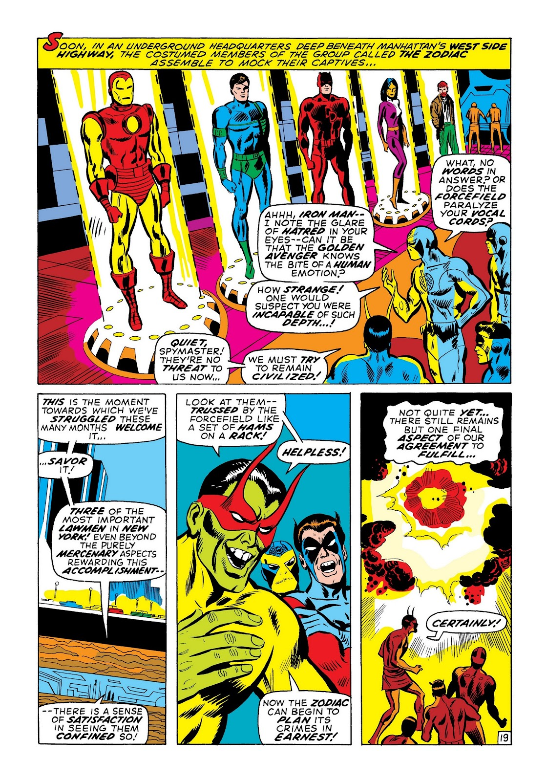Read online Marvel Masterworks: The Invincible Iron Man comic -  Issue # TPB 7 (Part 3) - 7