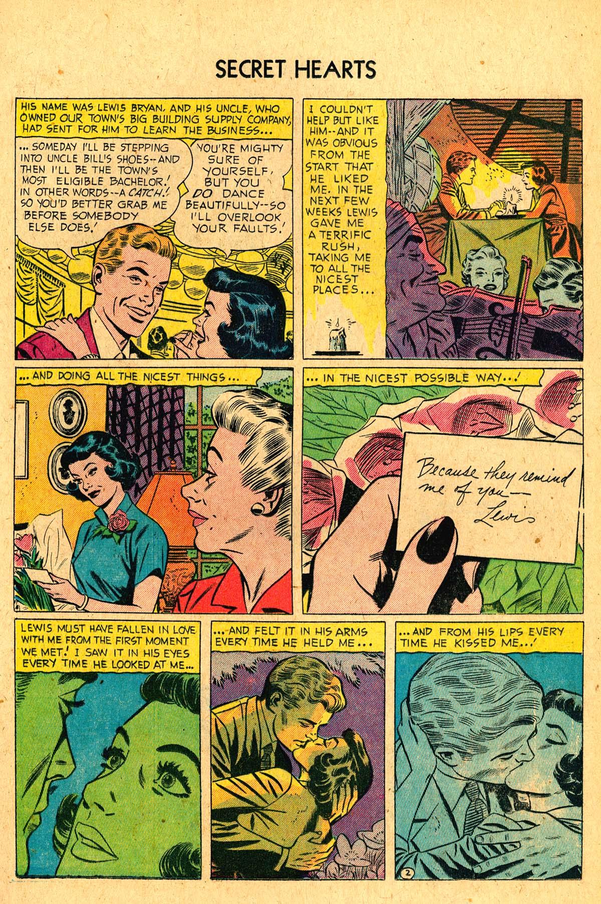 Read online Secret Hearts comic -  Issue #36 - 13