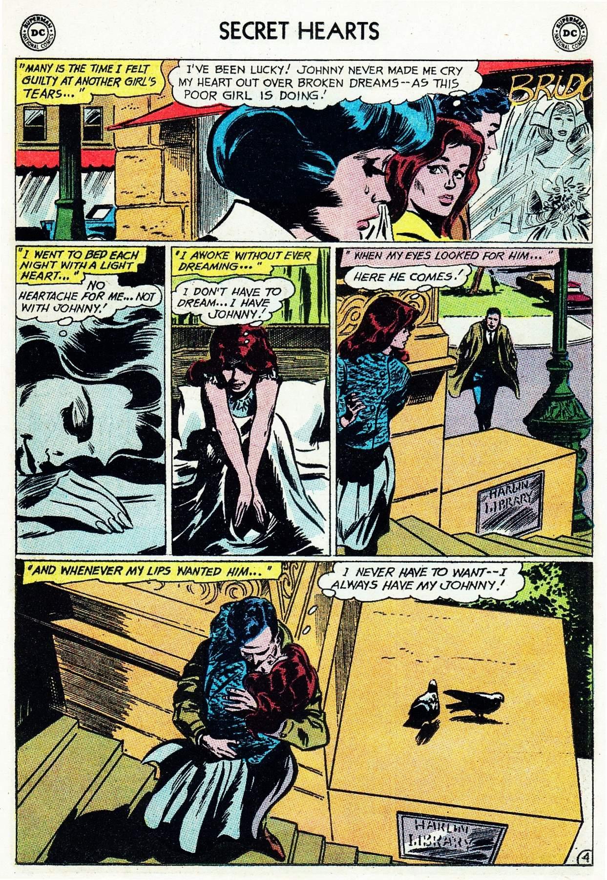 Read online Secret Hearts comic -  Issue #105 - 24