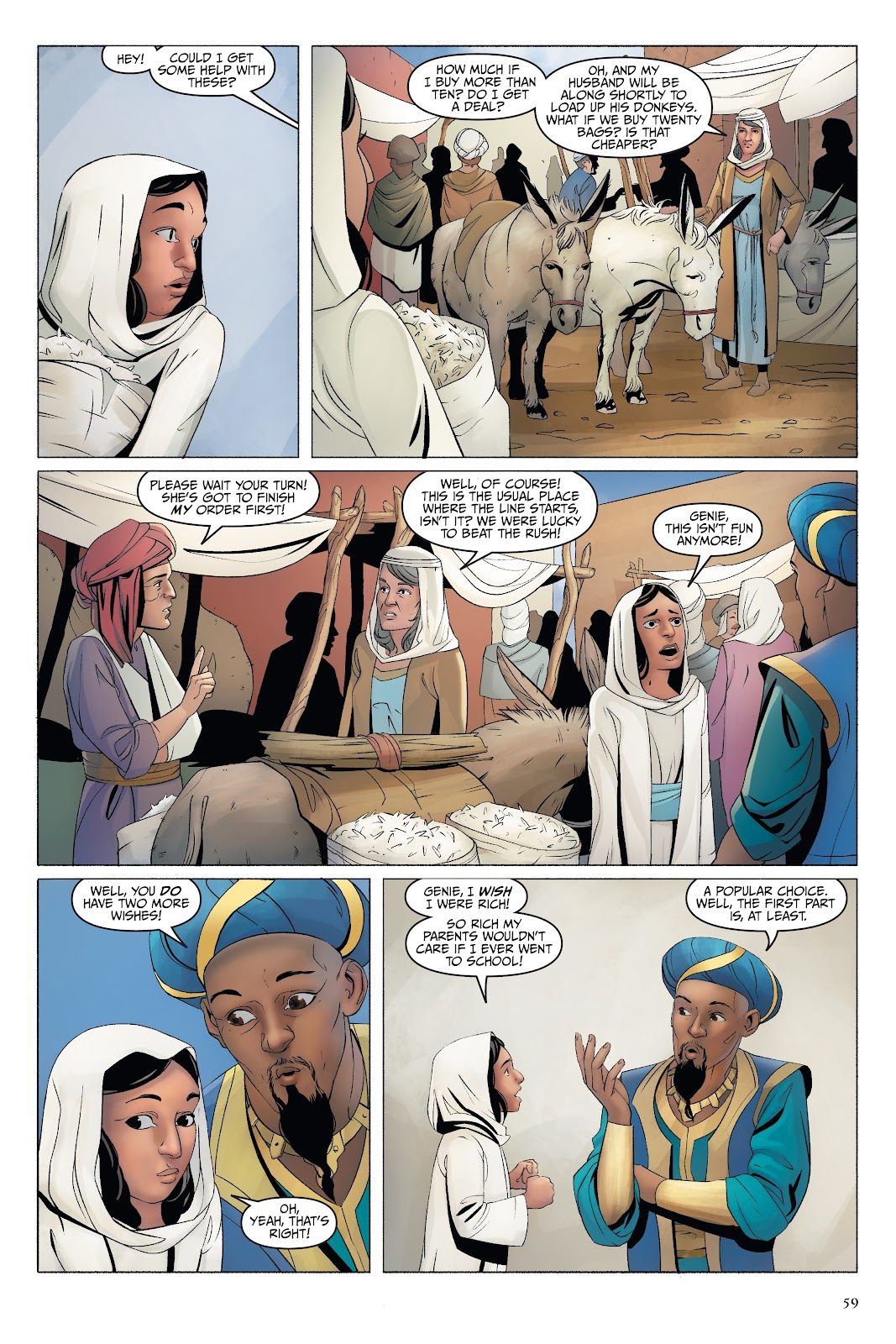 Read online Disney Aladdin: Four Tales of Agrabah comic -  Issue # TPB - 59
