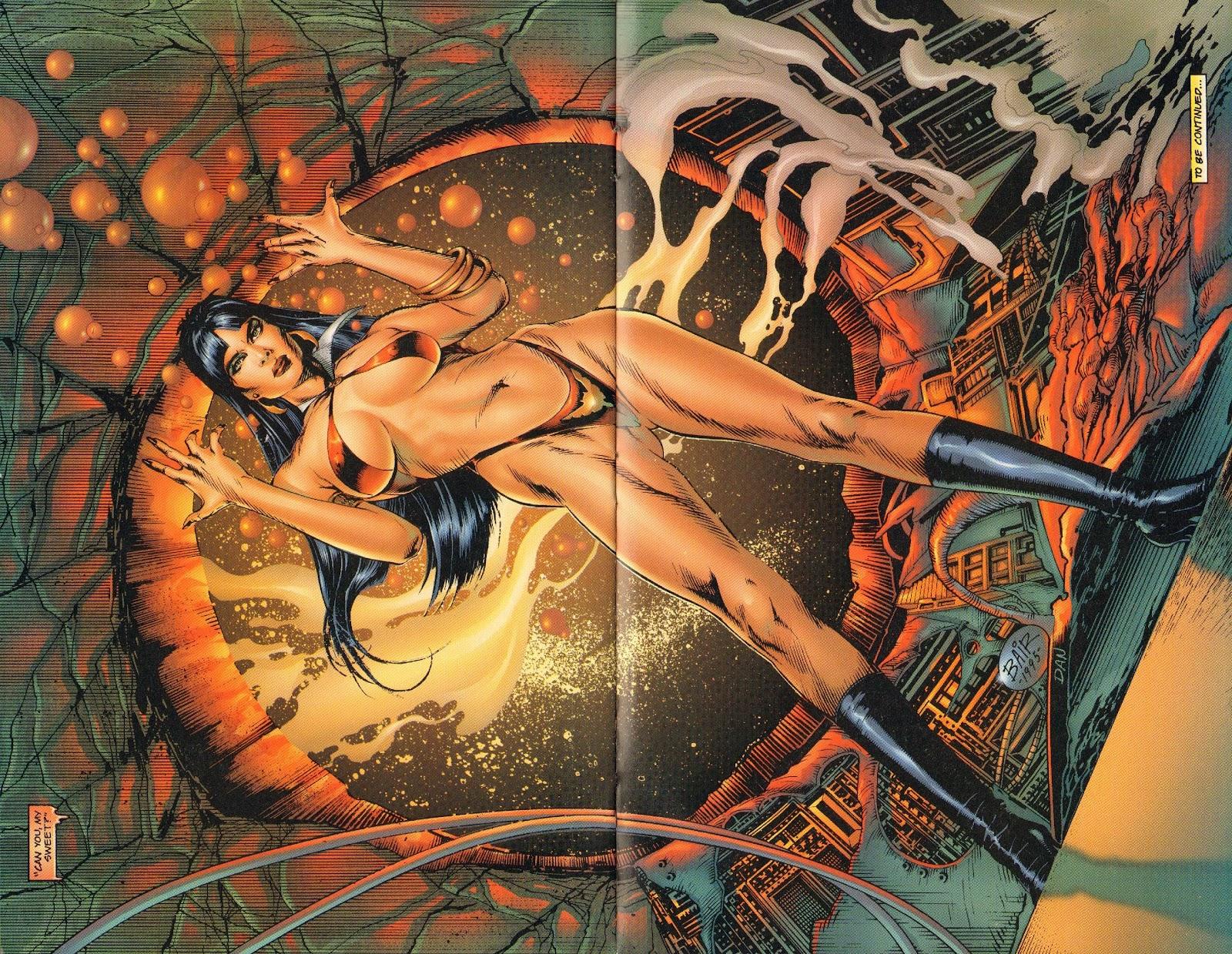 Vampirella vs Hemorrhage issue 1 - Page 25