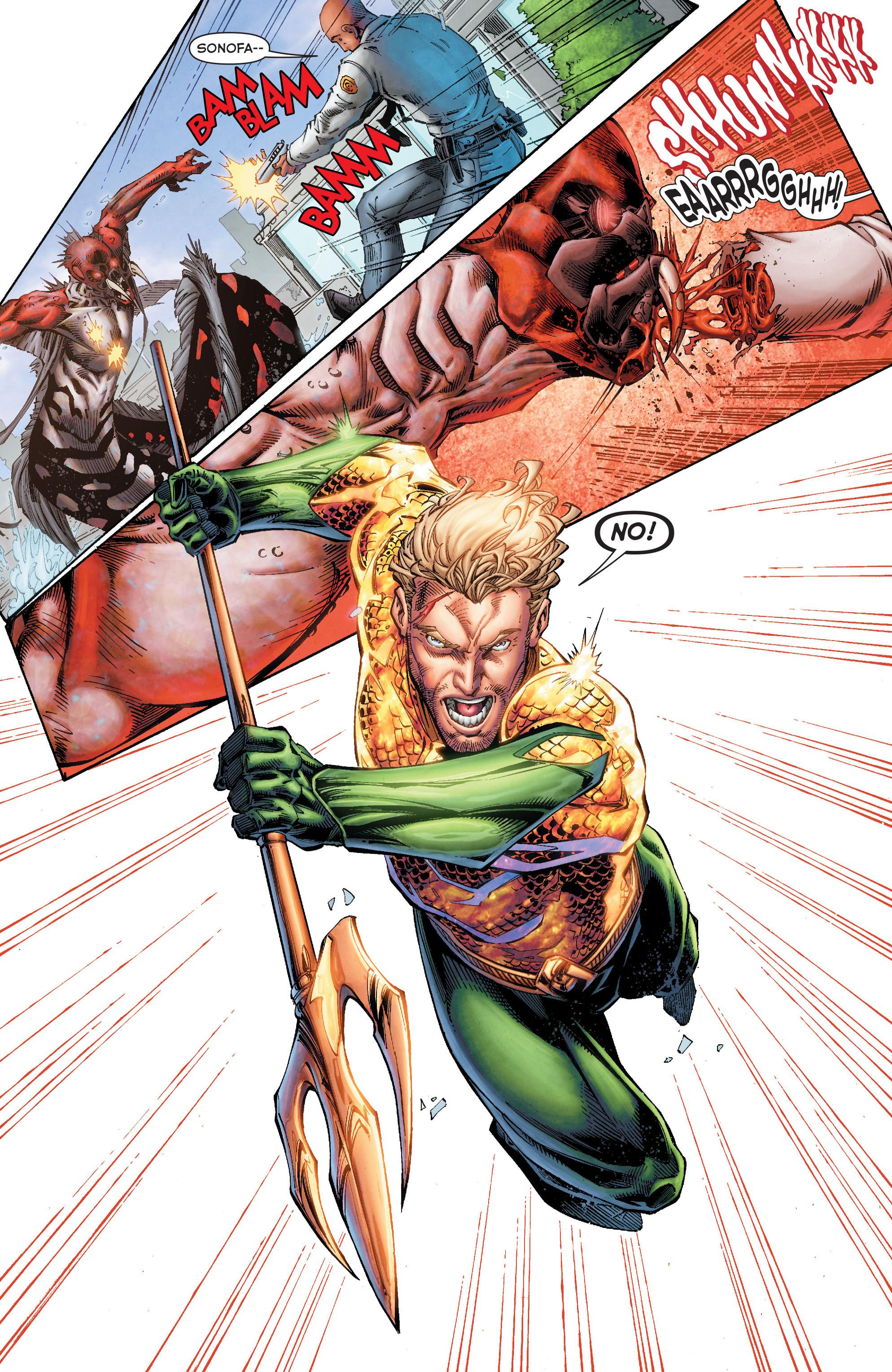 Read online Aquaman (2011) comic -  Issue #50 - 20