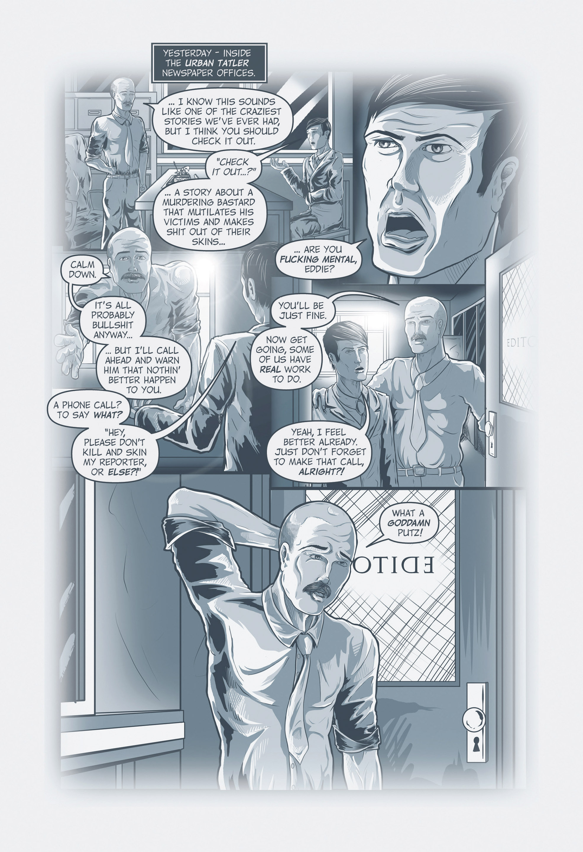 Read online Redemption Heights comic -  Issue # Full - 85