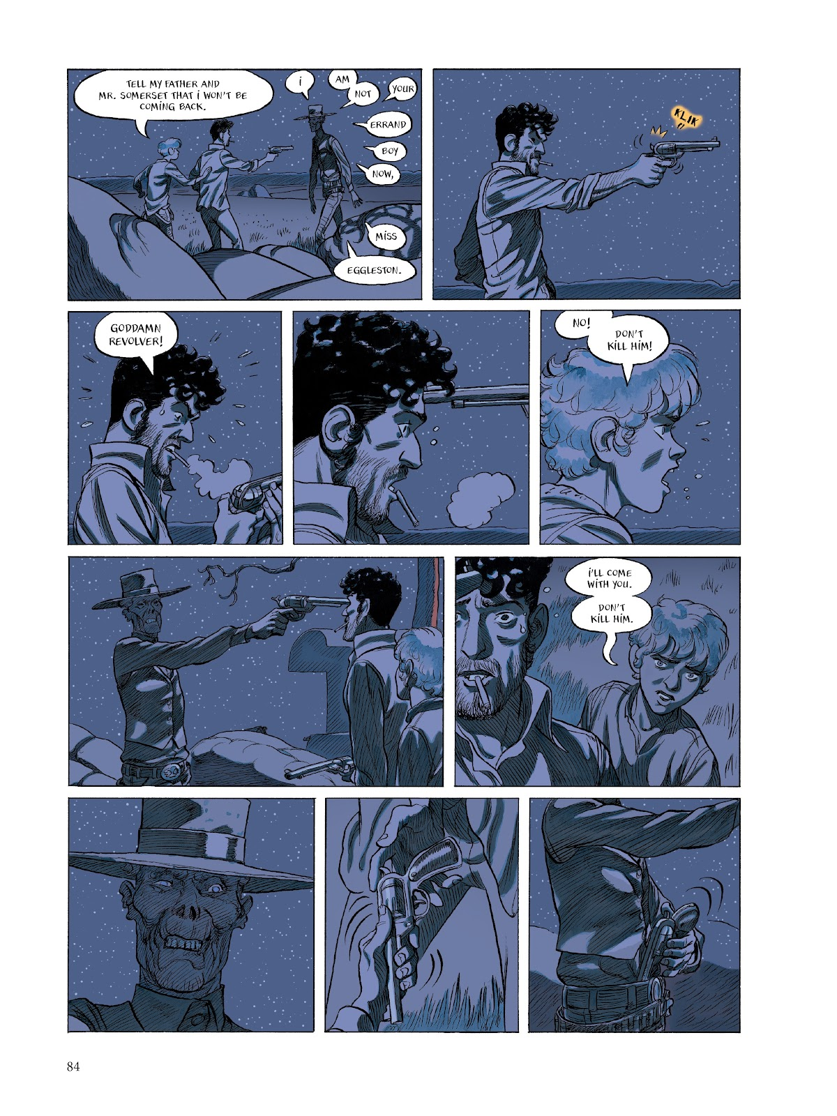 Read online The Smell of Starving Boys comic -  Issue # TPB - 85