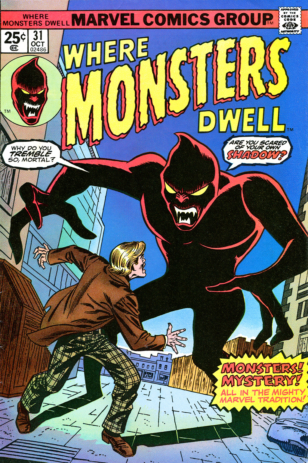 Where Monsters Dwell (1970) issue 31 - Page 1