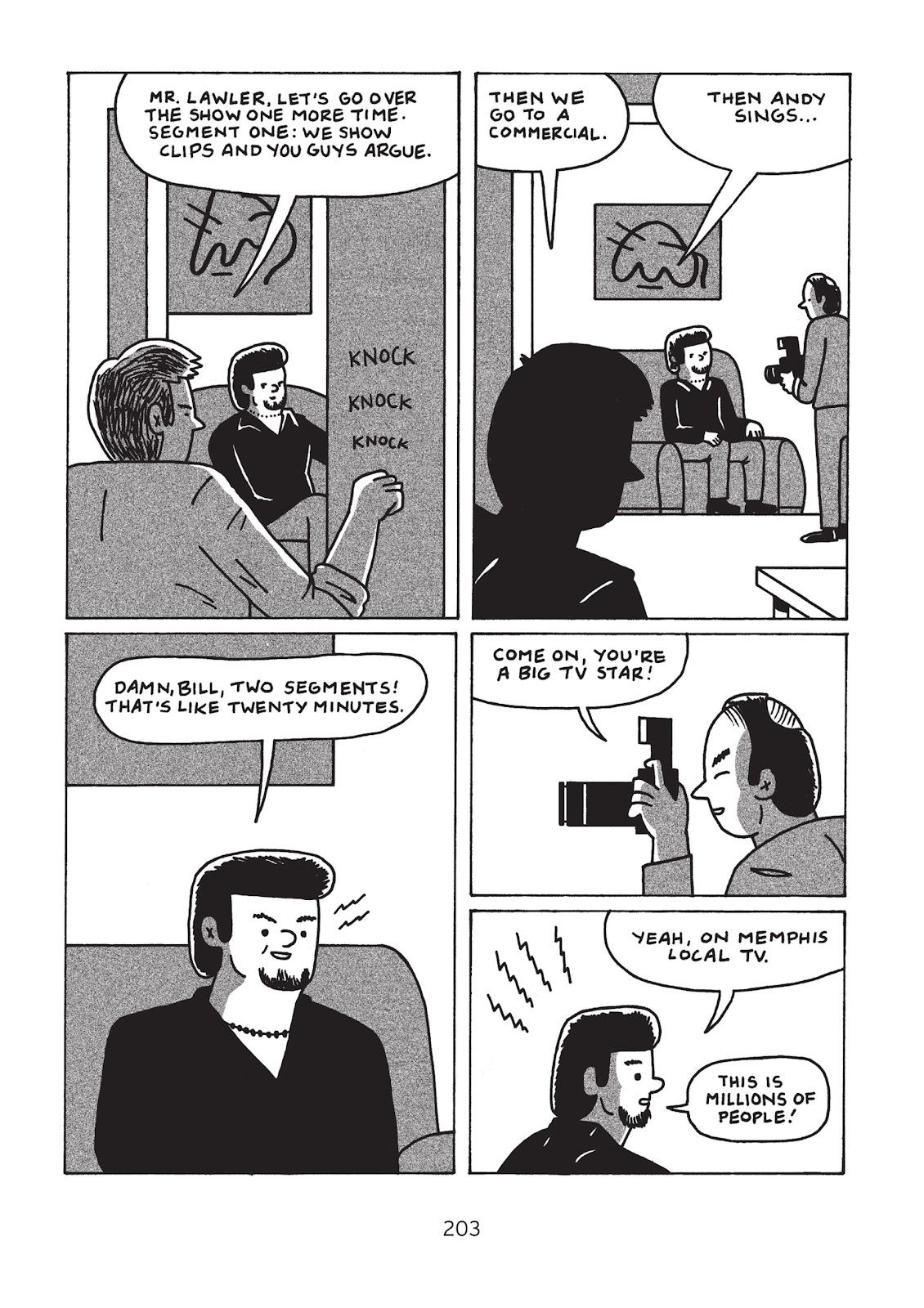 Read online Is This Guy For Real?: The Unbelievable Andy Kaufman comic -  Issue # TPB (Part 3) - 8