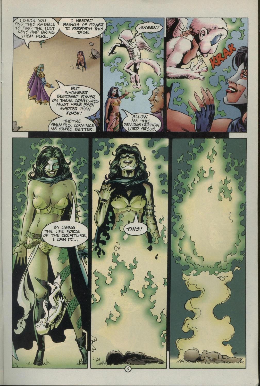 Read online Godwheel comic -  Issue #1 - 8