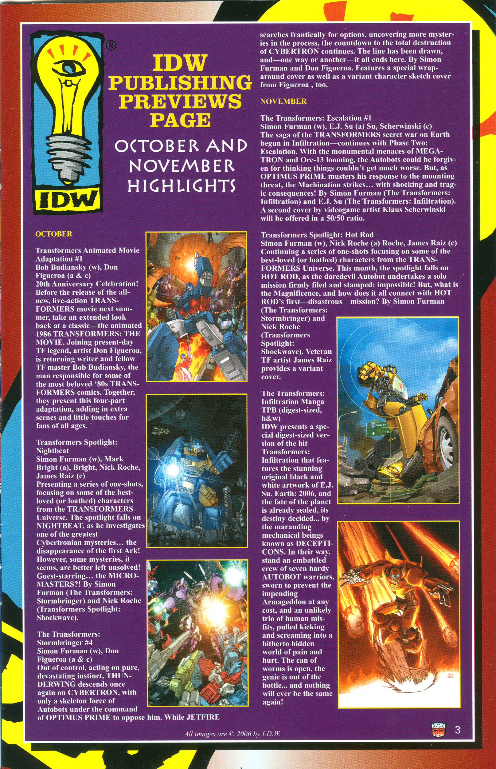 Read online Transformers: Collectors' Club comic -  Issue #11 - 3