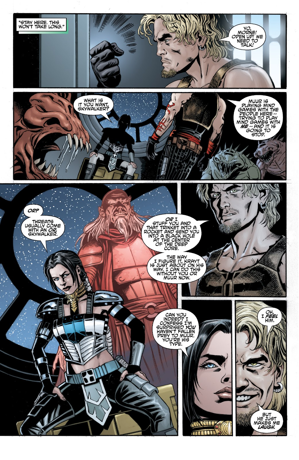 Read online Star Wars Legends: Legacy - Epic Collection comic -  Issue # TPB 2 (Part 3) - 42