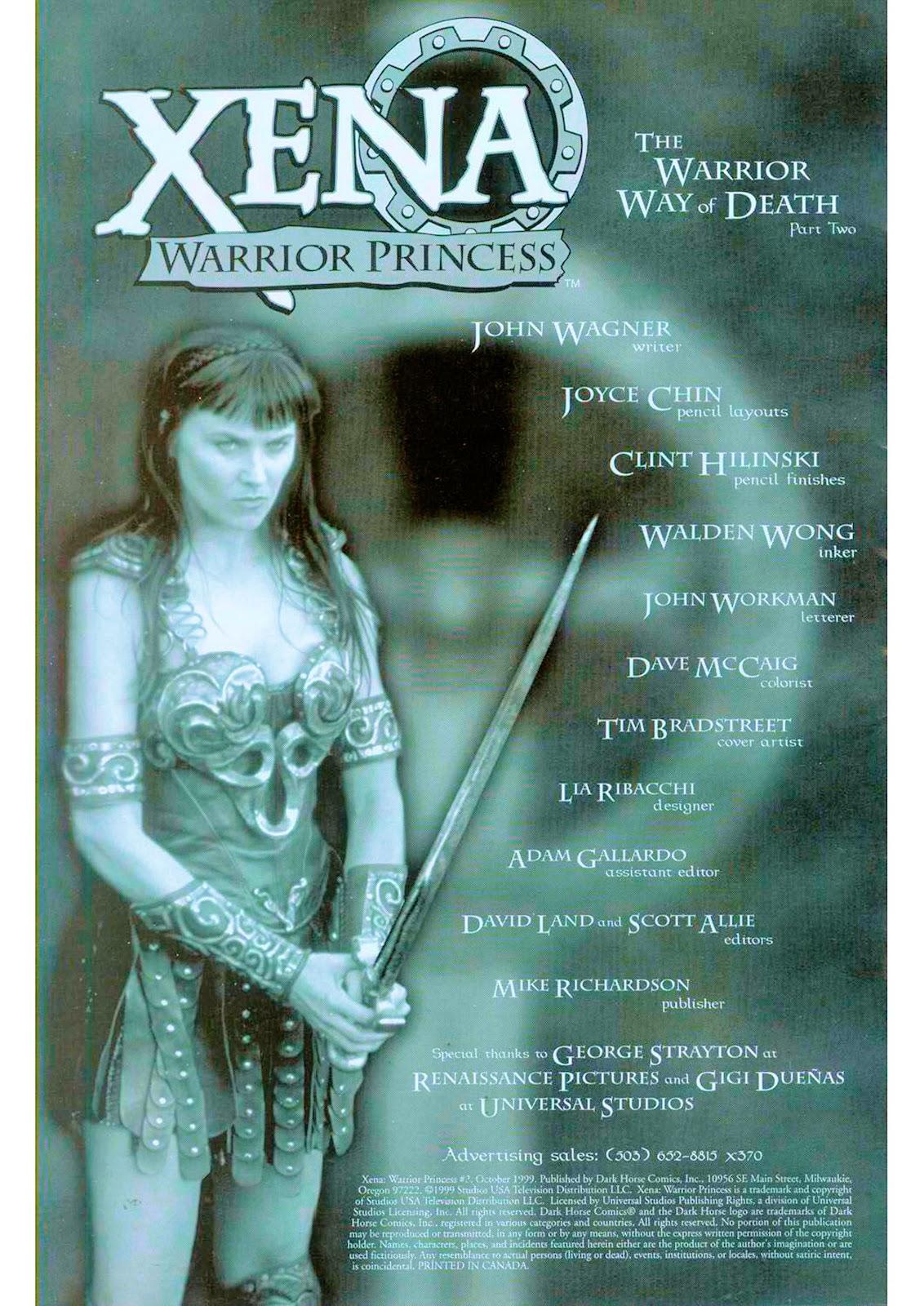 Xena: Warrior Princess (1999) Issue #2 #2 - English 4