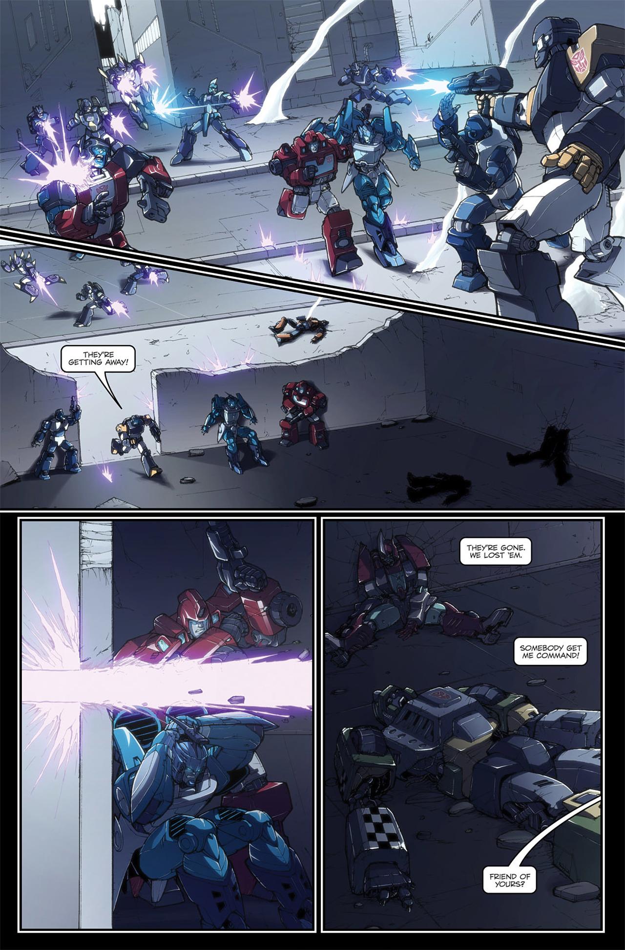 Read online Transformers Spotlight: Blurr comic -  Issue # Full - 19