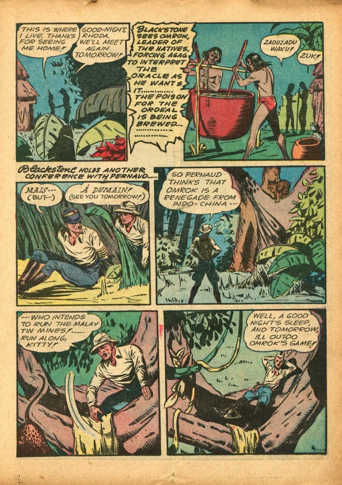 Read online Super-Magician Comics comic -  Issue #5 - 21