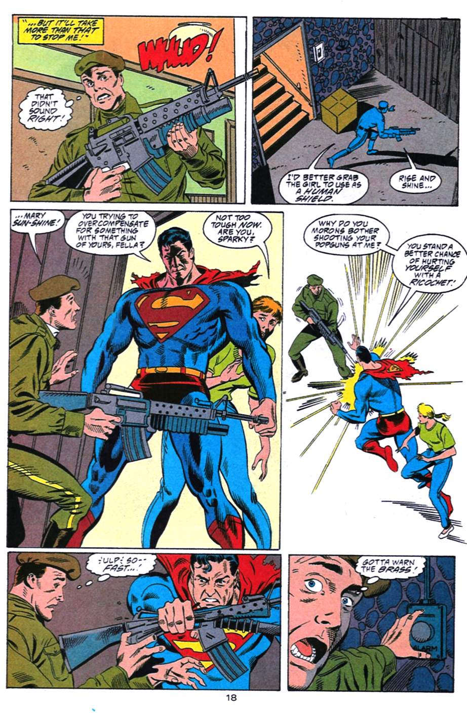 Read online Adventures of Superman (1987) comic -  Issue #492 - 19