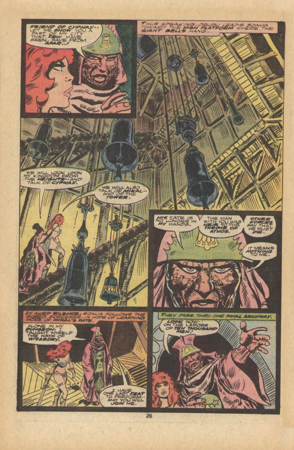 Red Sonja (1977) issue 5 - Page 15