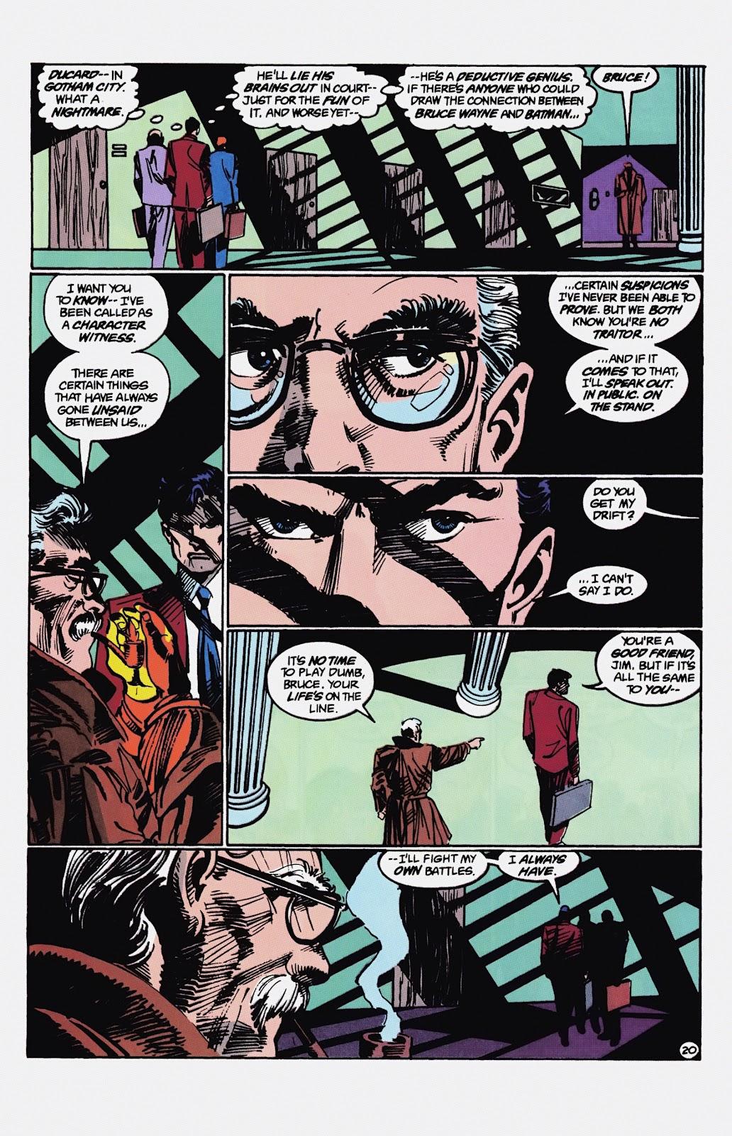 Read online Detective Comics (1937) comic -  Issue # _TPB Batman - Blind Justice (Part 1) - 85