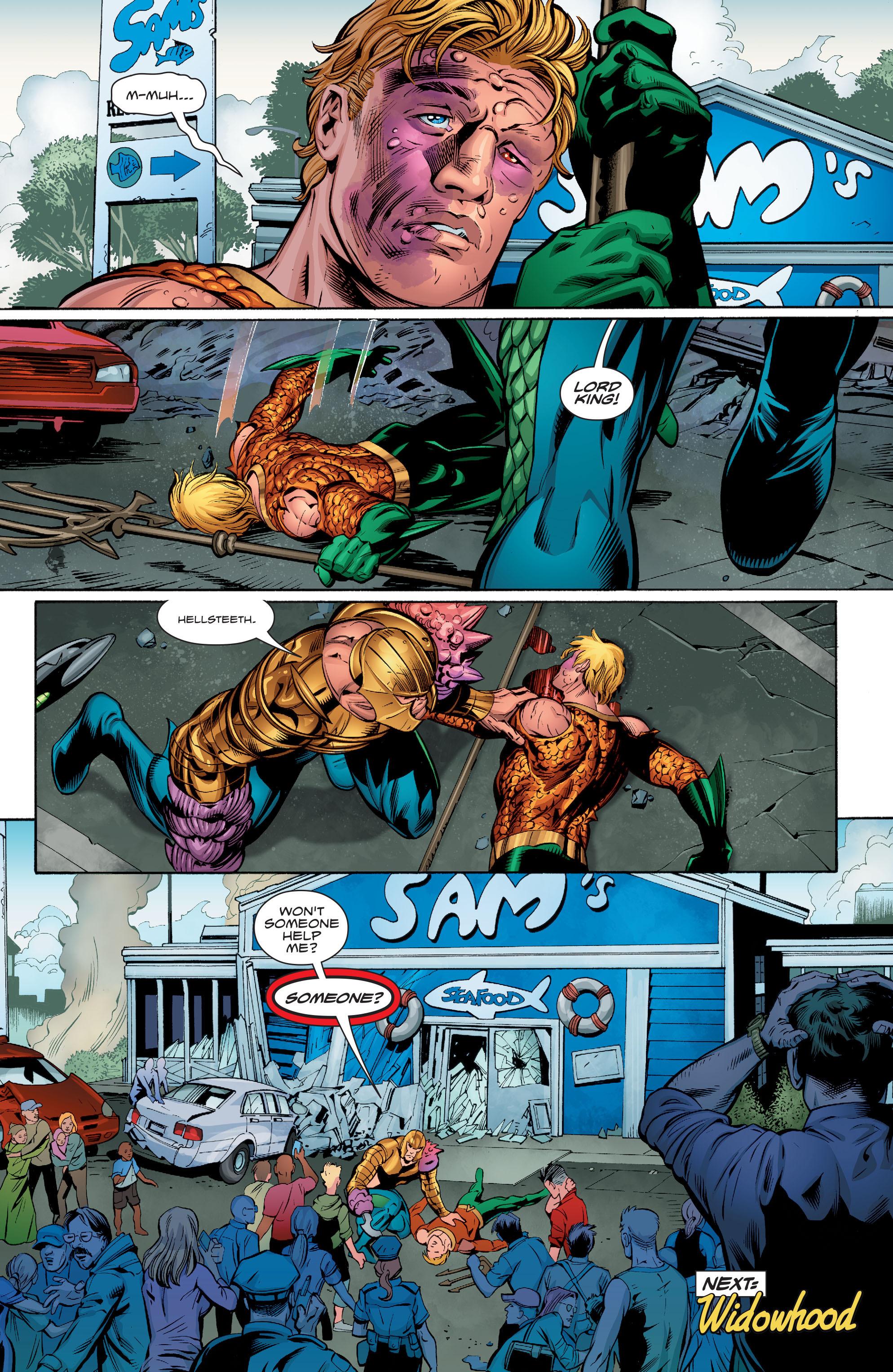 Read online Aquaman (2016) comic -  Issue #9 - 22