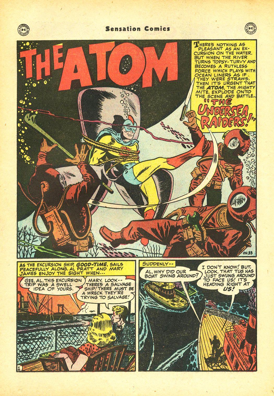 Read online Sensation (Mystery) Comics comic -  Issue #86 - 36