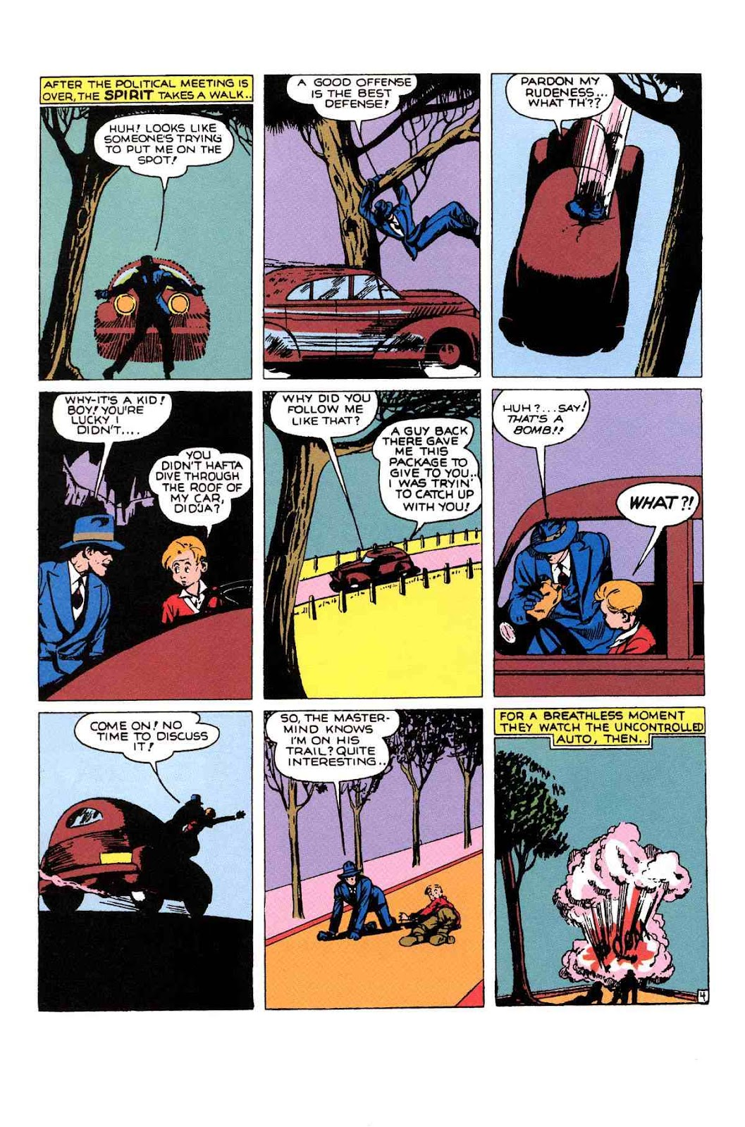 Read online Will Eisner's The Spirit Archives comic -  Issue # TPB 1 (Part 2) - 31