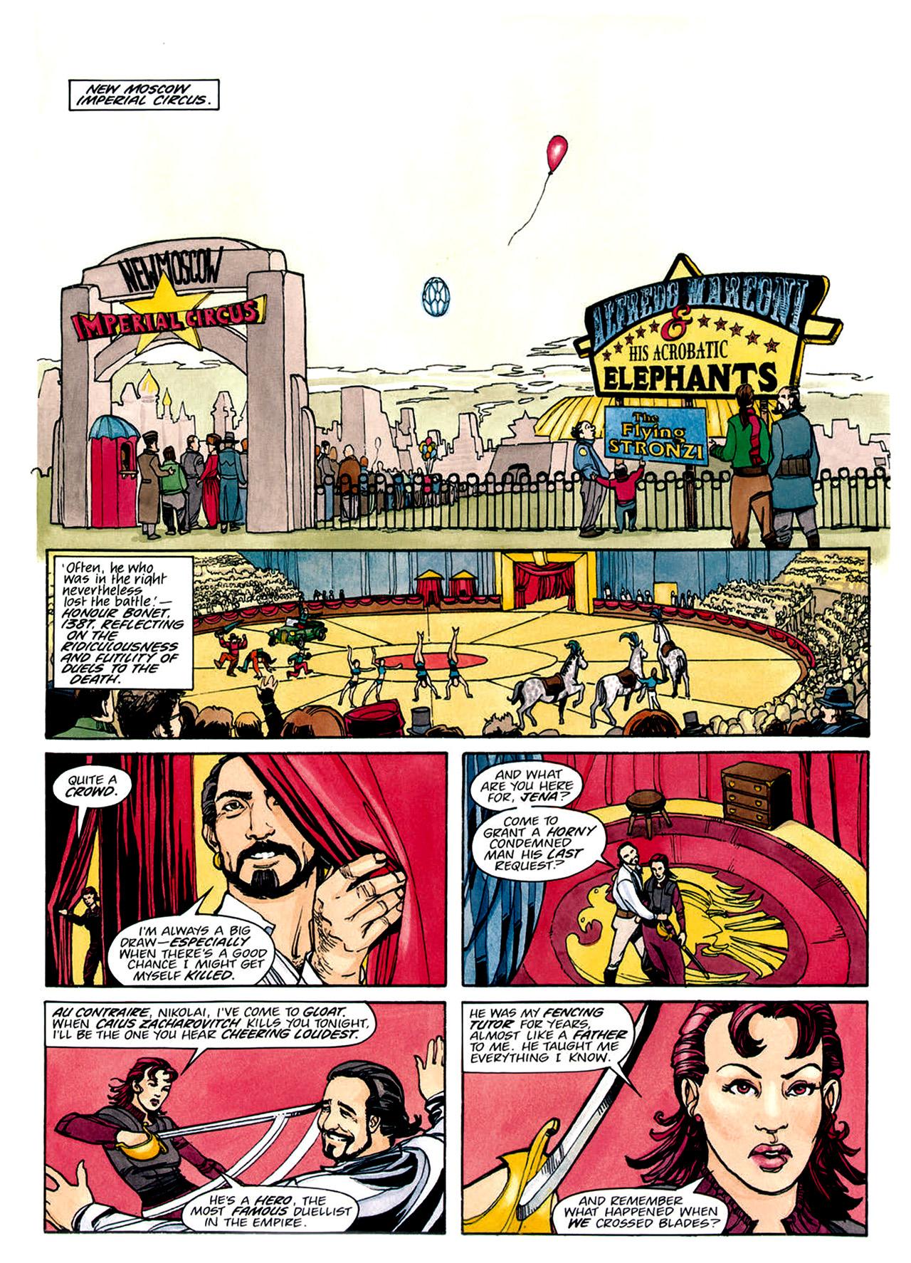 Read online Nikolai Dante comic -  Issue # TPB 1 - 143