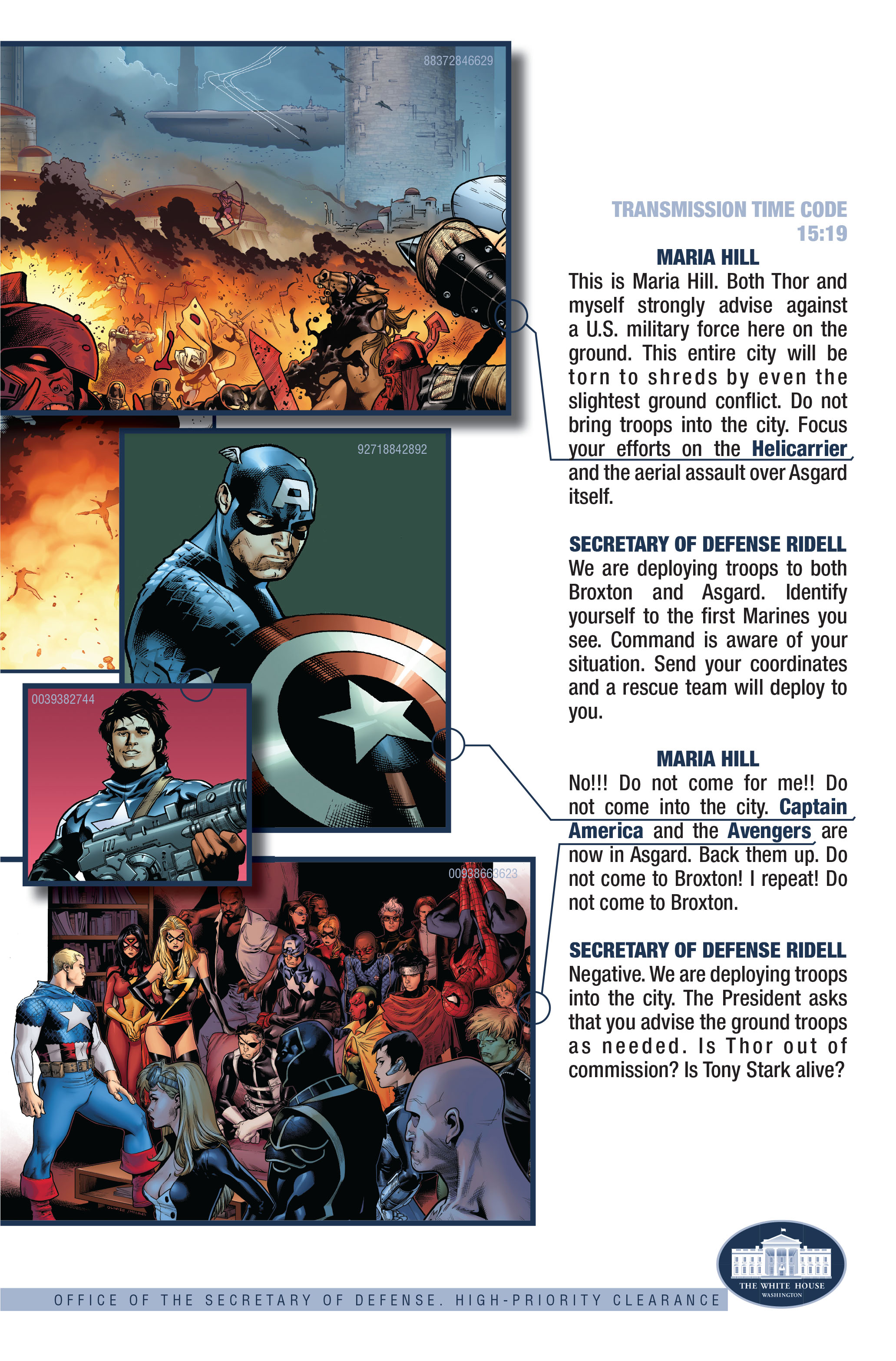Read online Siege (2010) comic -  Issue #3 - 26