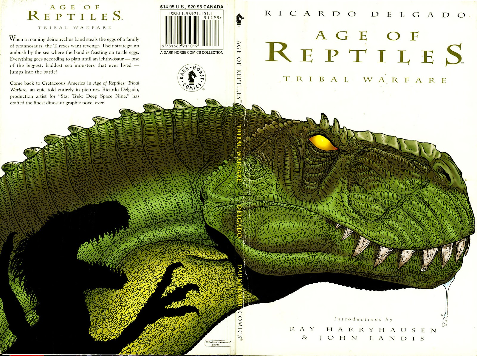 Age of Reptiles TPB Page 1