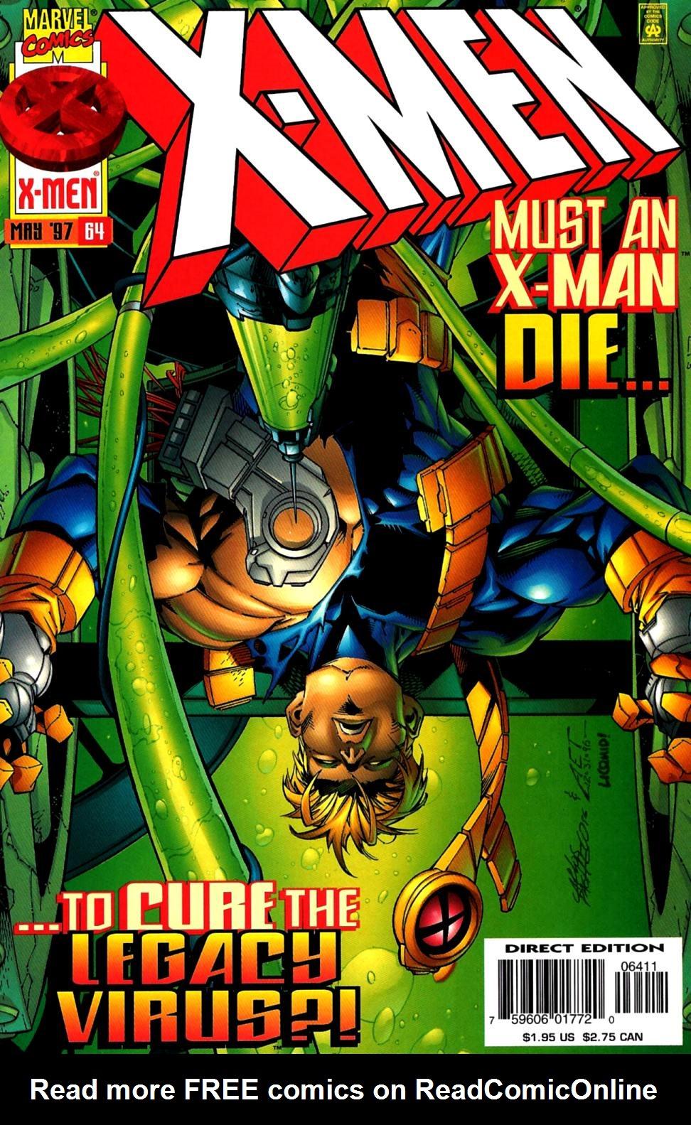 X-Men (1991) 64 Page 0